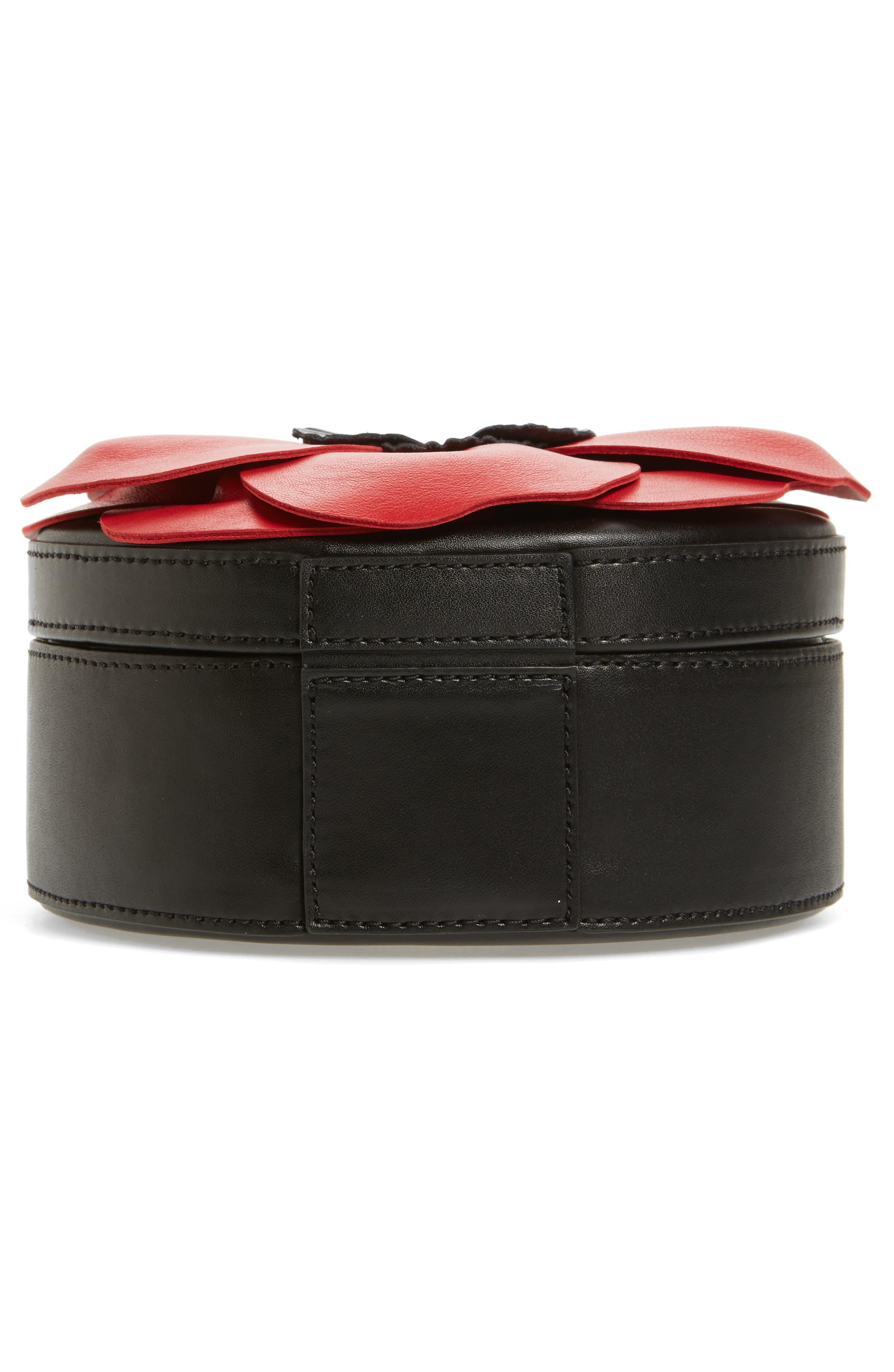 ooh la la poppy leather crossbody bag,                             Alternate thumbnail 6, color,