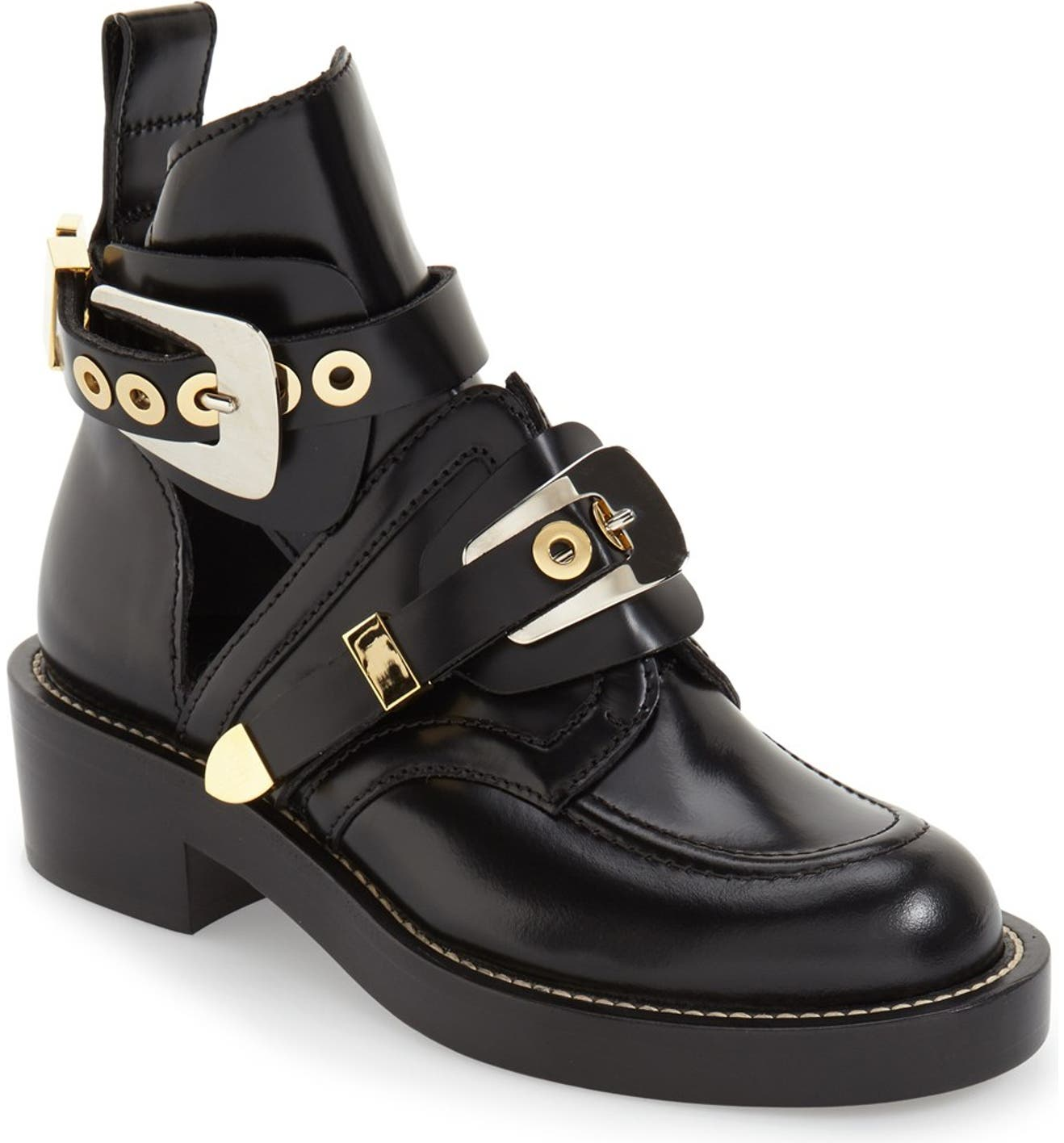 Balenciaga Cutout Buckle Boot (Women)  782d6070a194