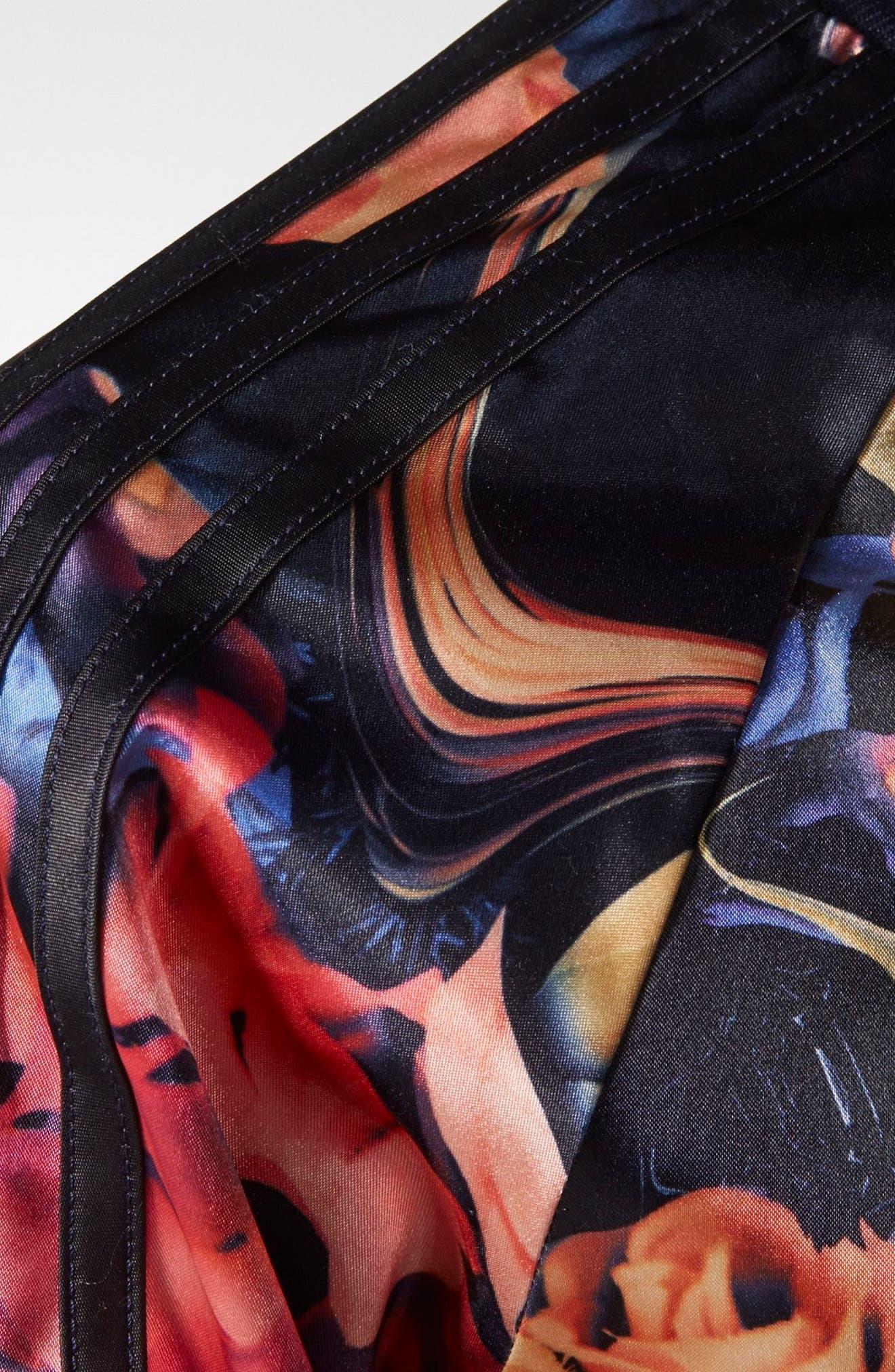 Rose Print Superstar Jacket,                             Alternate thumbnail 5, color,                             001