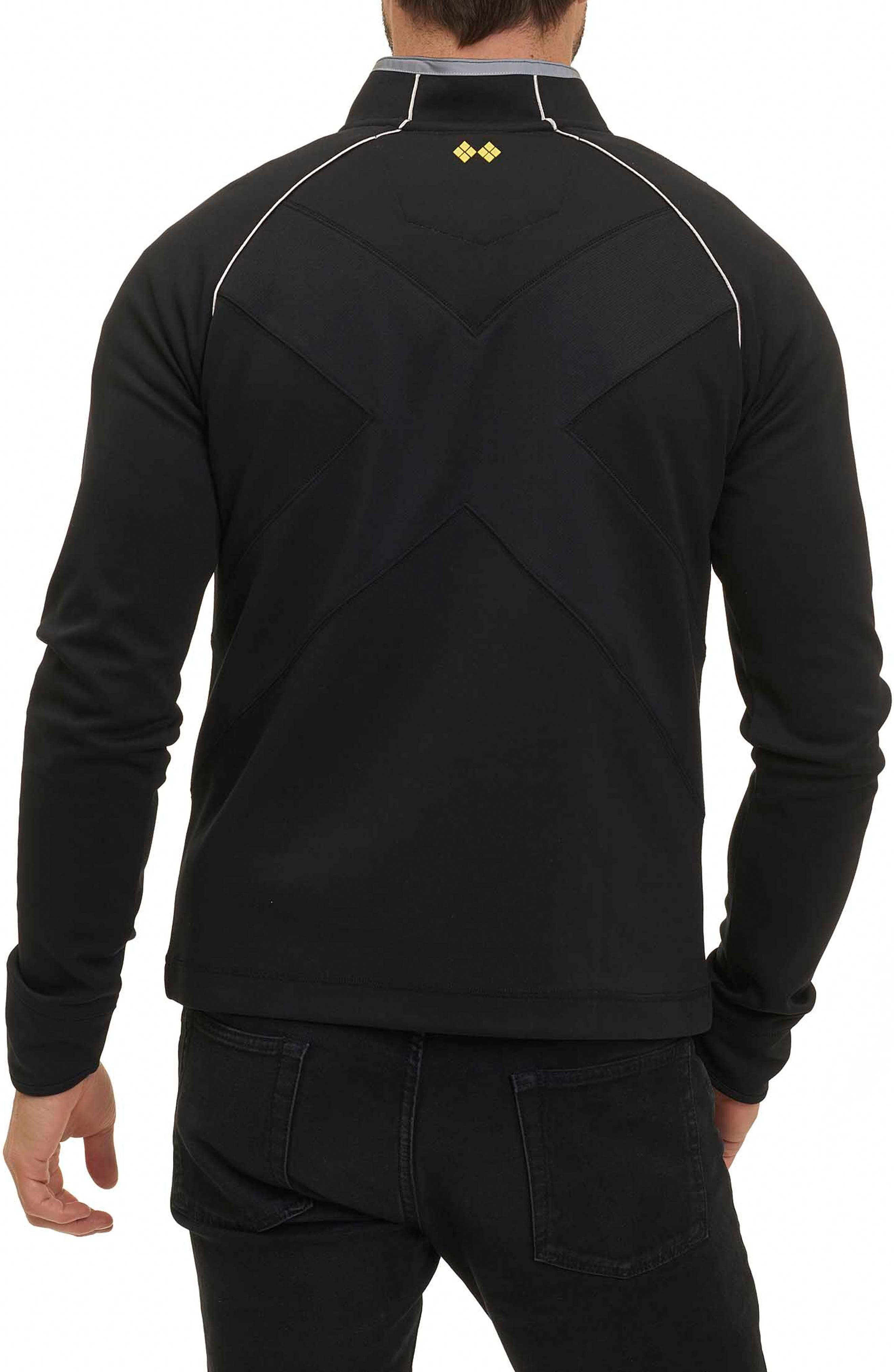 Taylore Quarter Zip Pullover,                             Alternate thumbnail 2, color,                             001
