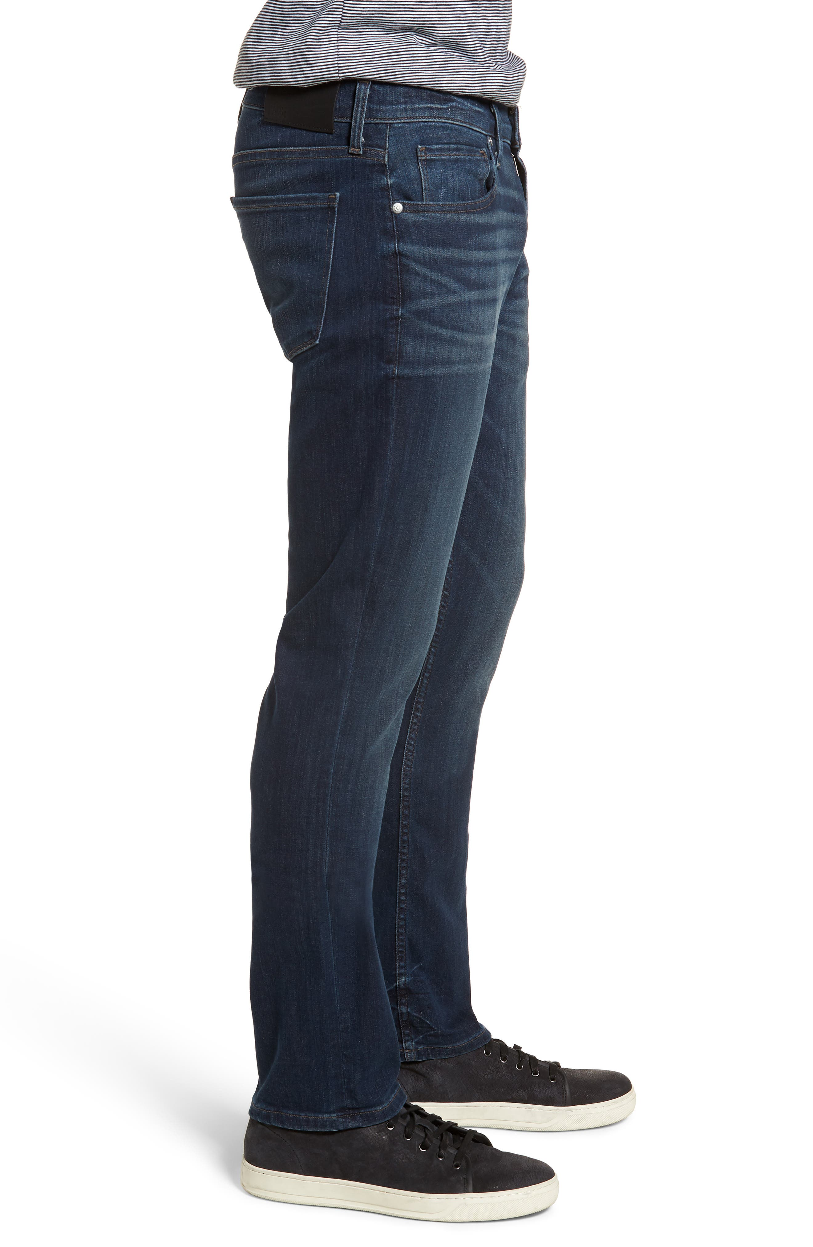 Transcend - Federal Slim Straight Leg Jeans,                             Alternate thumbnail 3, color,                             FREEMAN