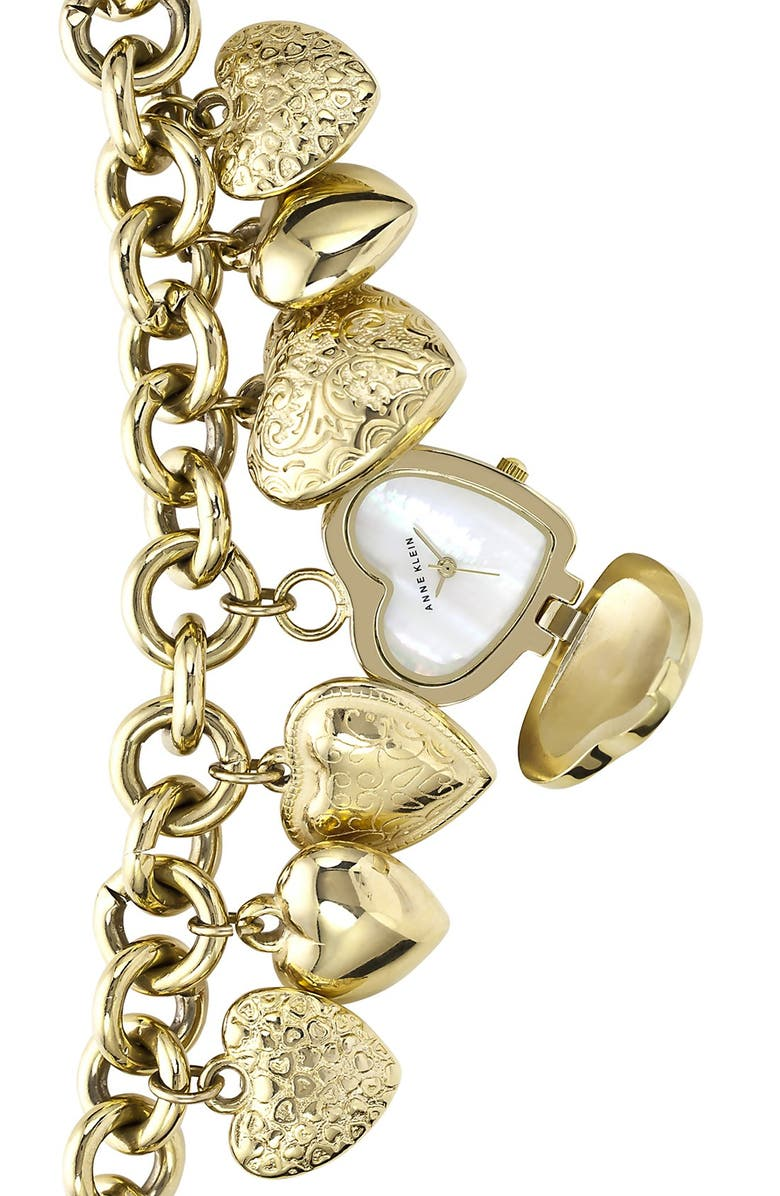 Heart Charm Bracelet Watch 25mm