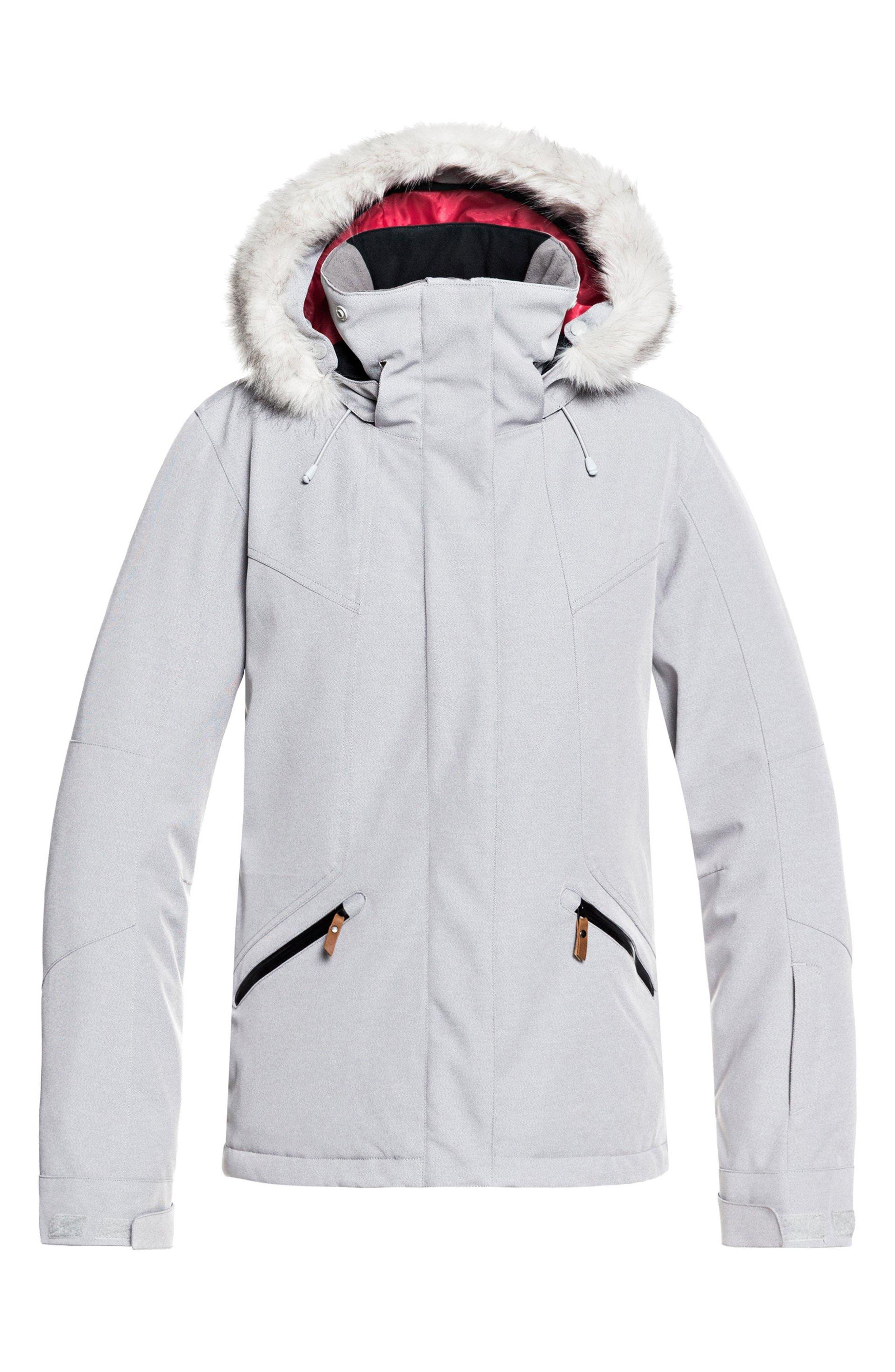 ROXY Atmosphere Snow Jacket, Main, color, 020