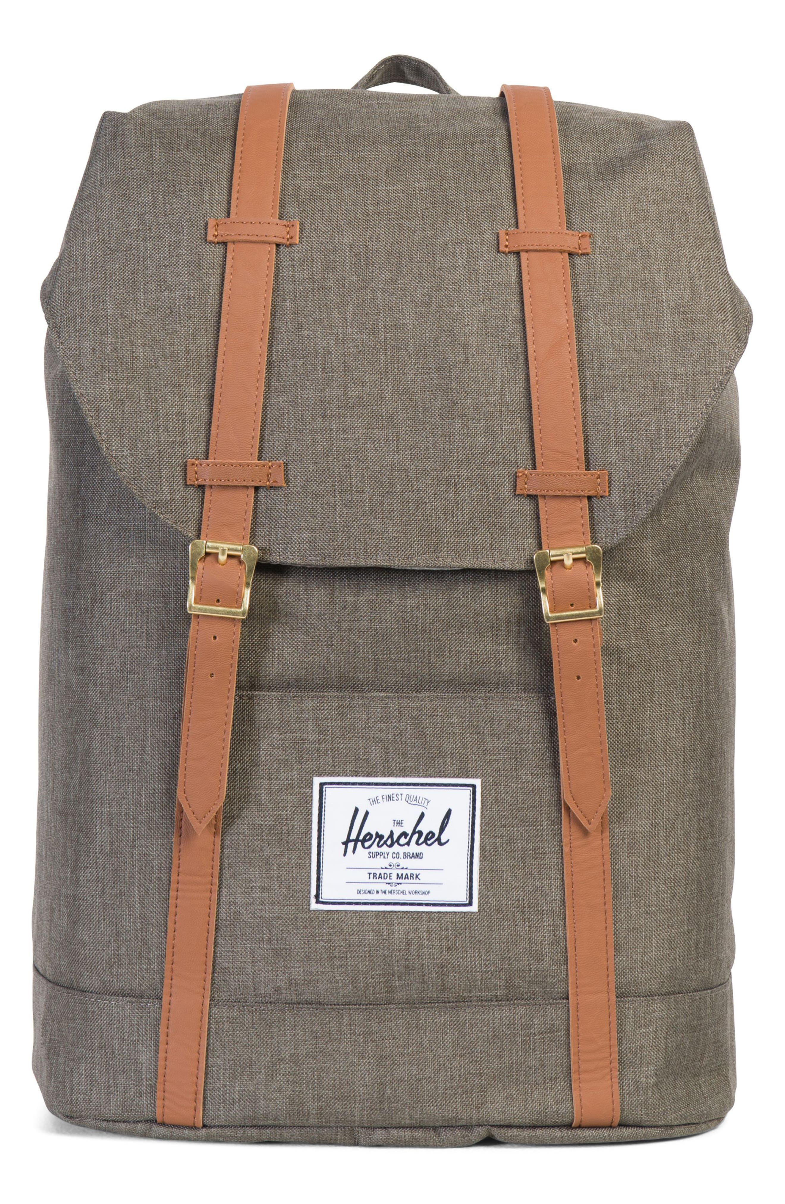 'Retreat' Backpack,                         Main,                         color, CANTEEN CROSSHATCH