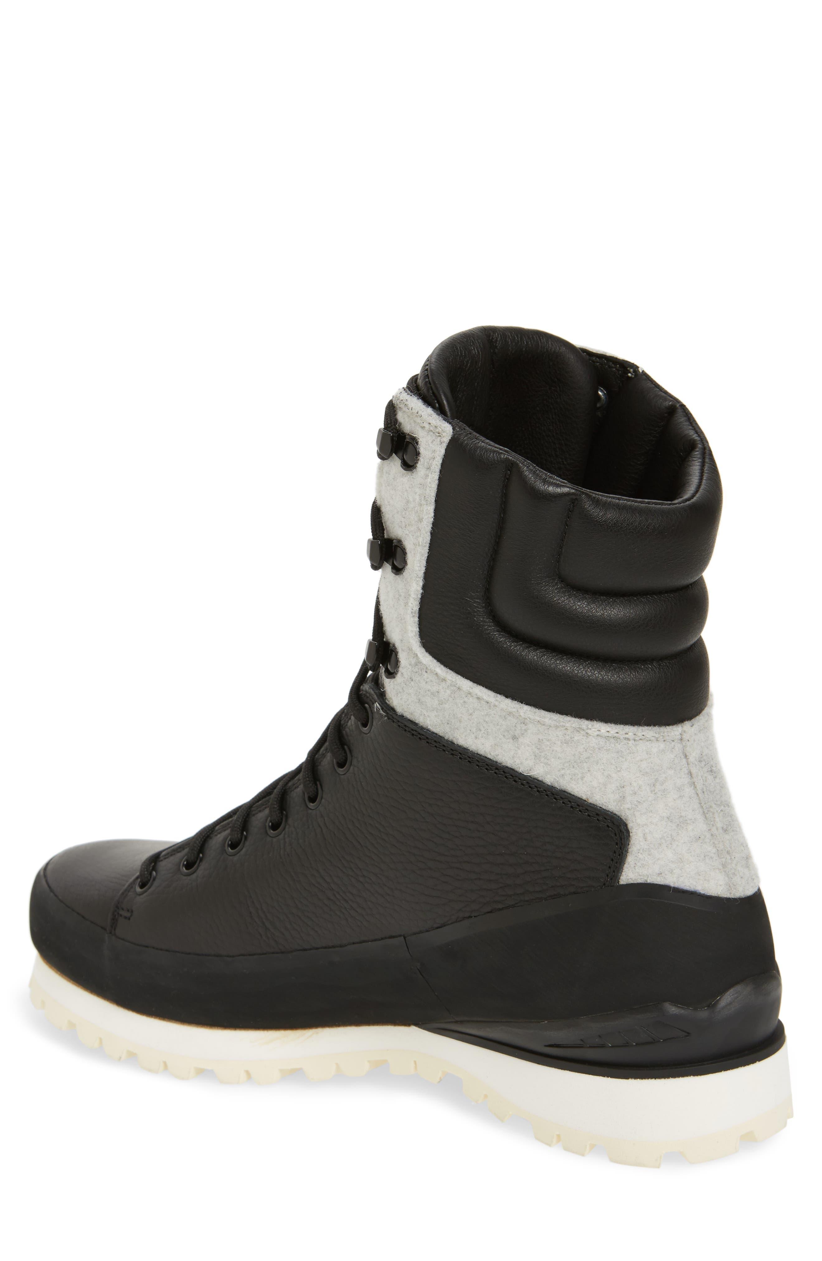 Cryos Boot,                             Alternate thumbnail 2, color,                             TNF BLACK/ GLACIER WHITE