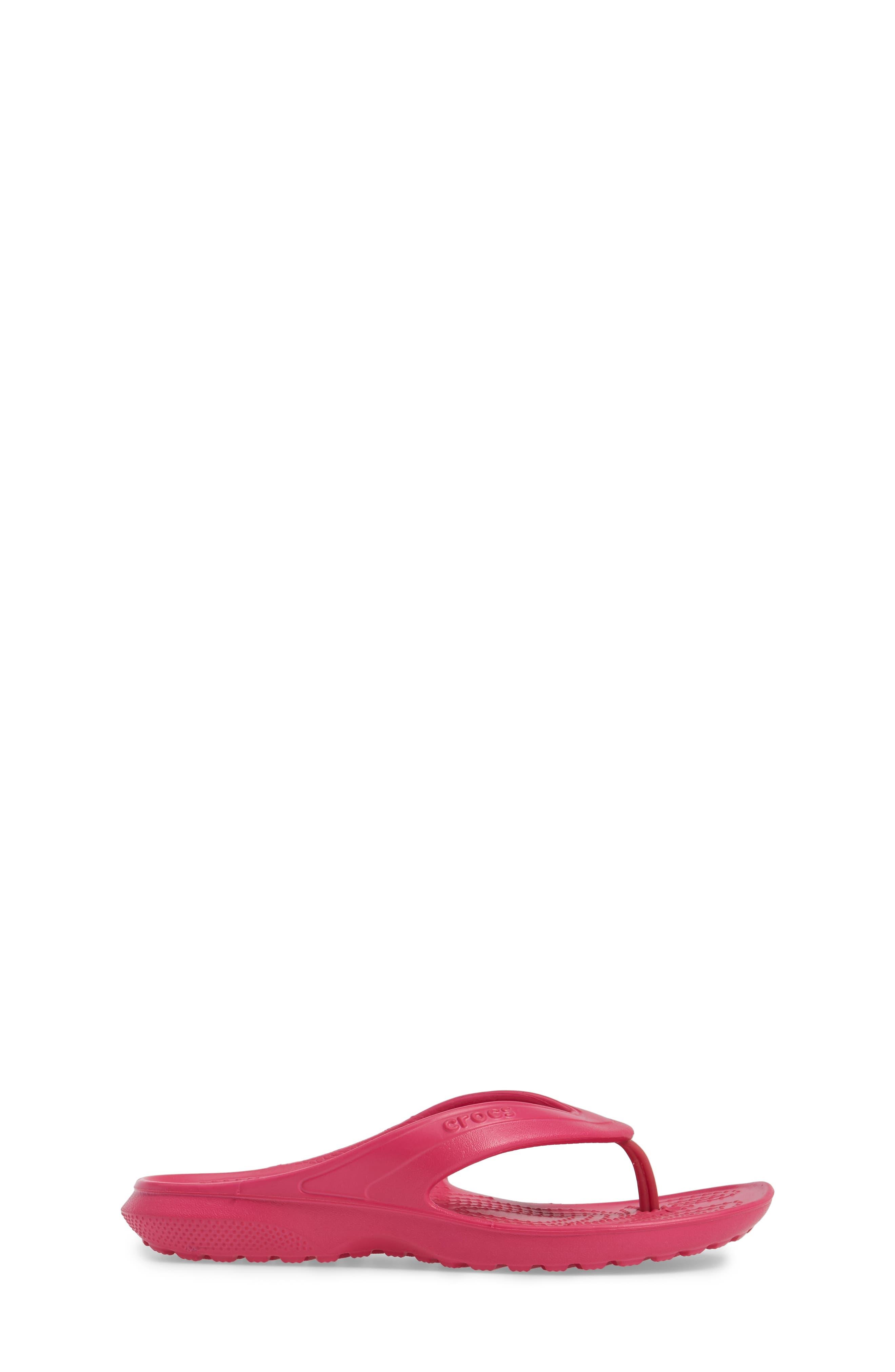 Classic Flip Flop,                             Alternate thumbnail 3, color,                             CANDY PINK