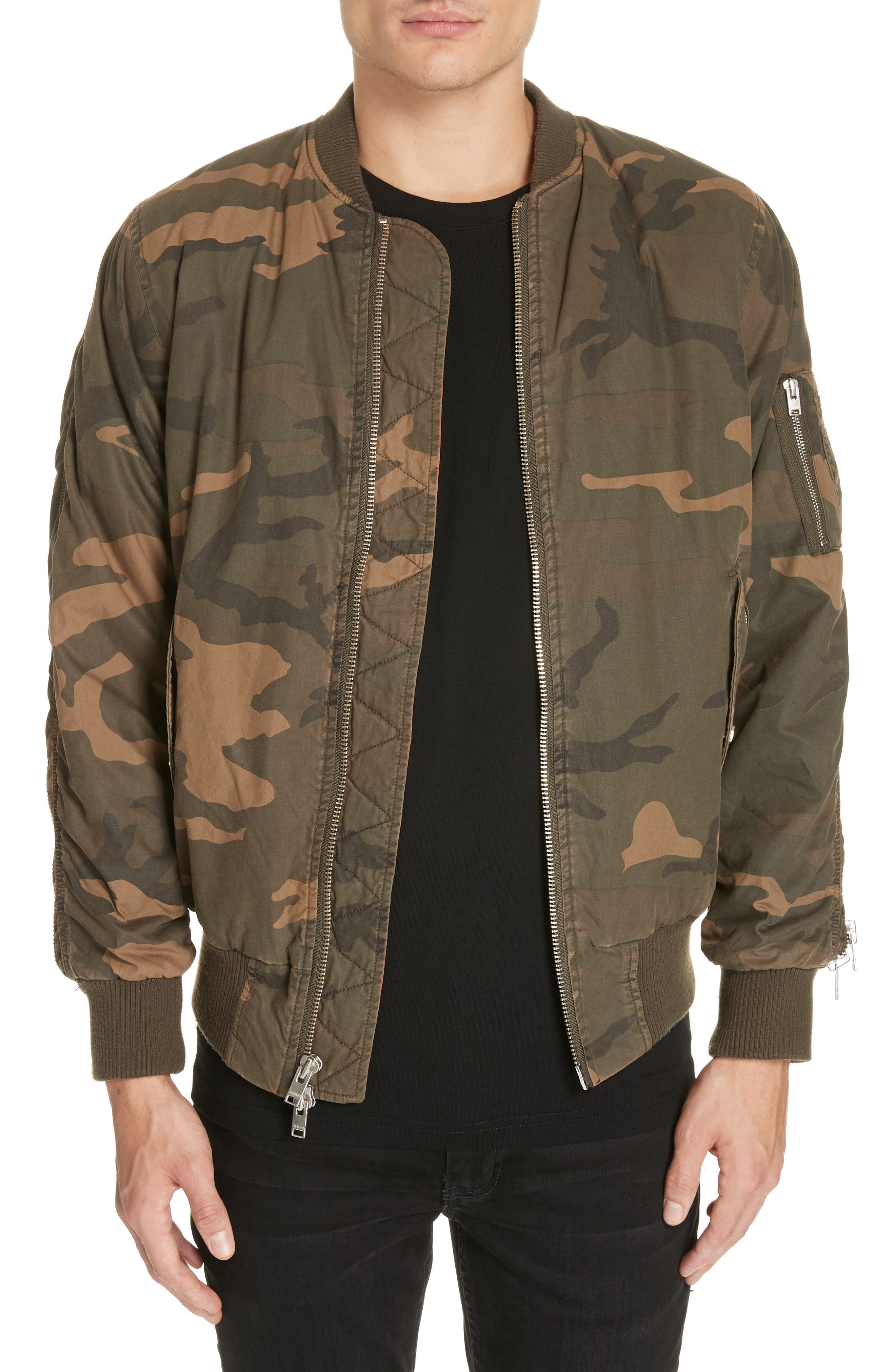 Convoy Strap Bomber Jacket,                         Main,                         color, 310