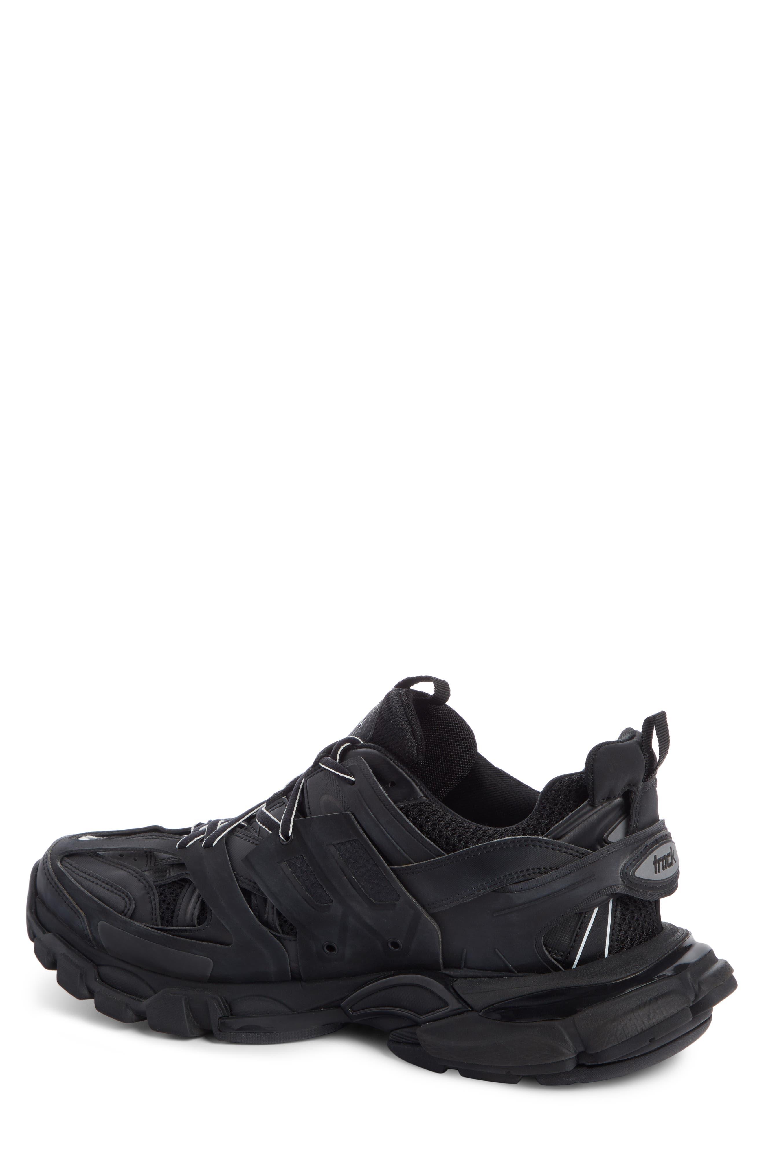 Track Sneaker,                             Alternate thumbnail 2, color,                             BLACK