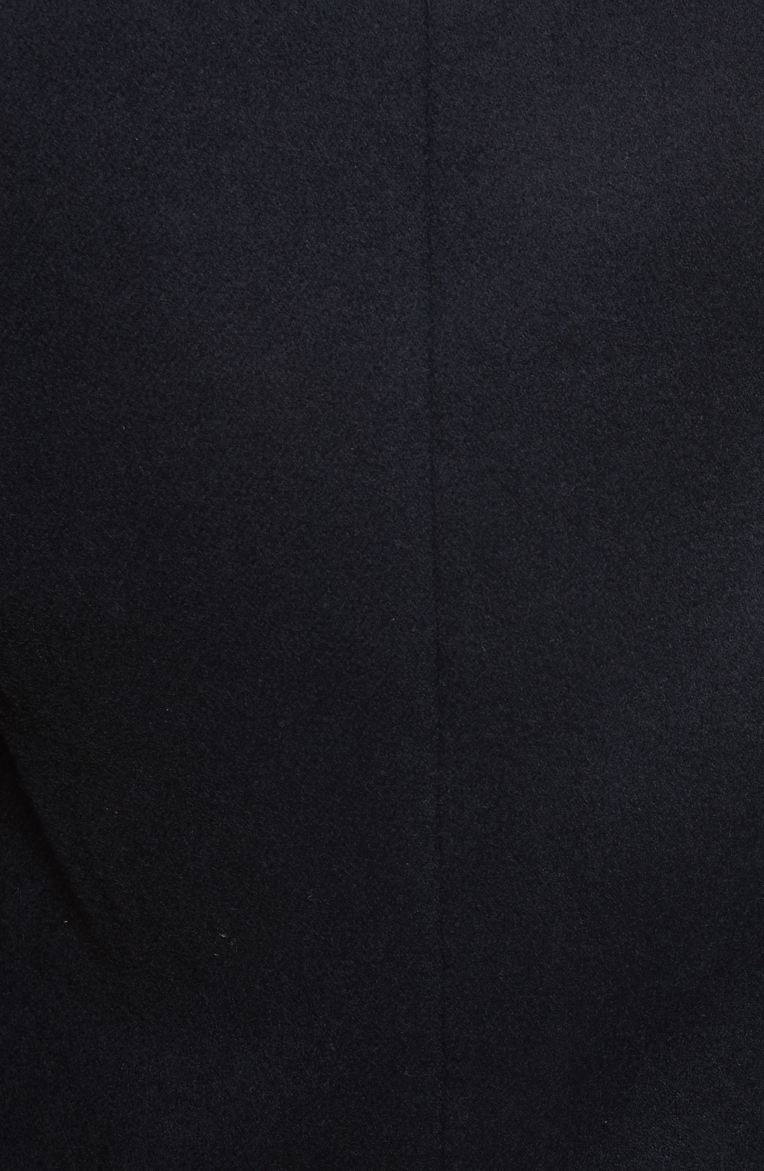 Genuine Shearling Trim Scuba Jacket,                             Alternate thumbnail 5, color,                             403