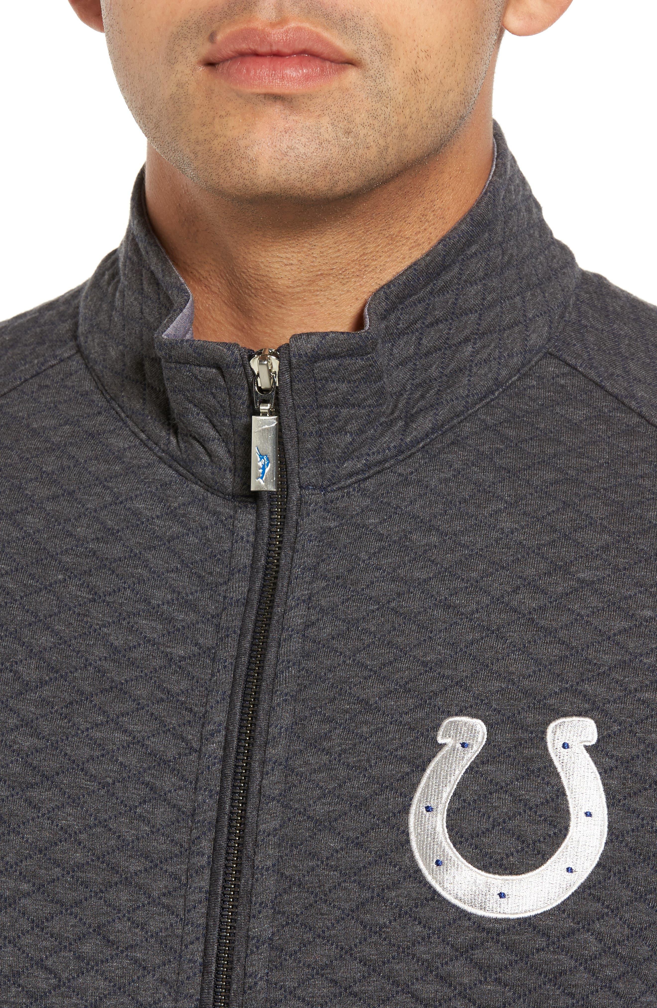NFL Quiltessential Full Zip Sweatshirt,                             Alternate thumbnail 104, color,