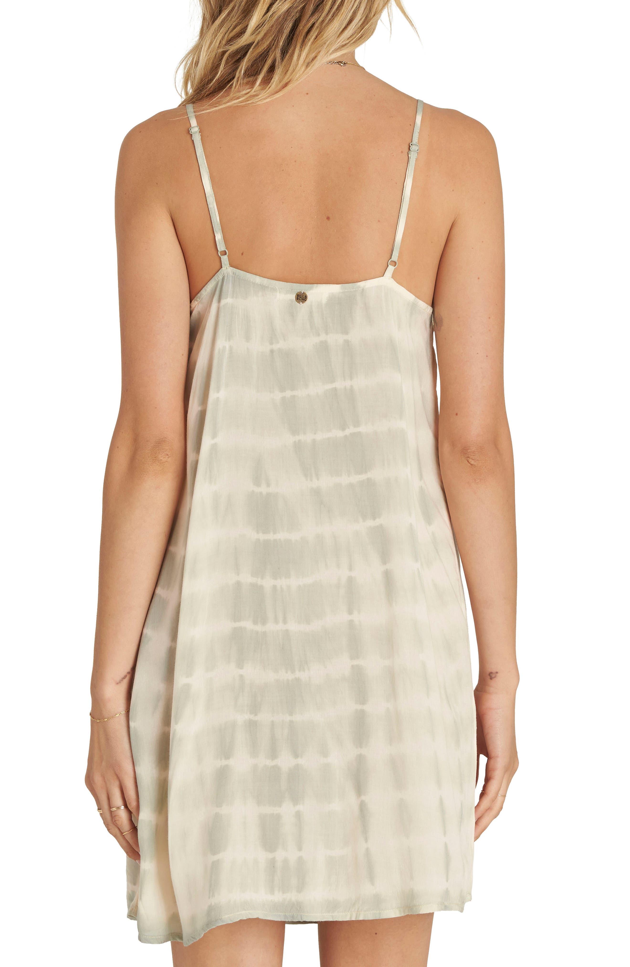 Glass Water Tie Dye Ruffle Dress,                             Alternate thumbnail 2, color,                             310