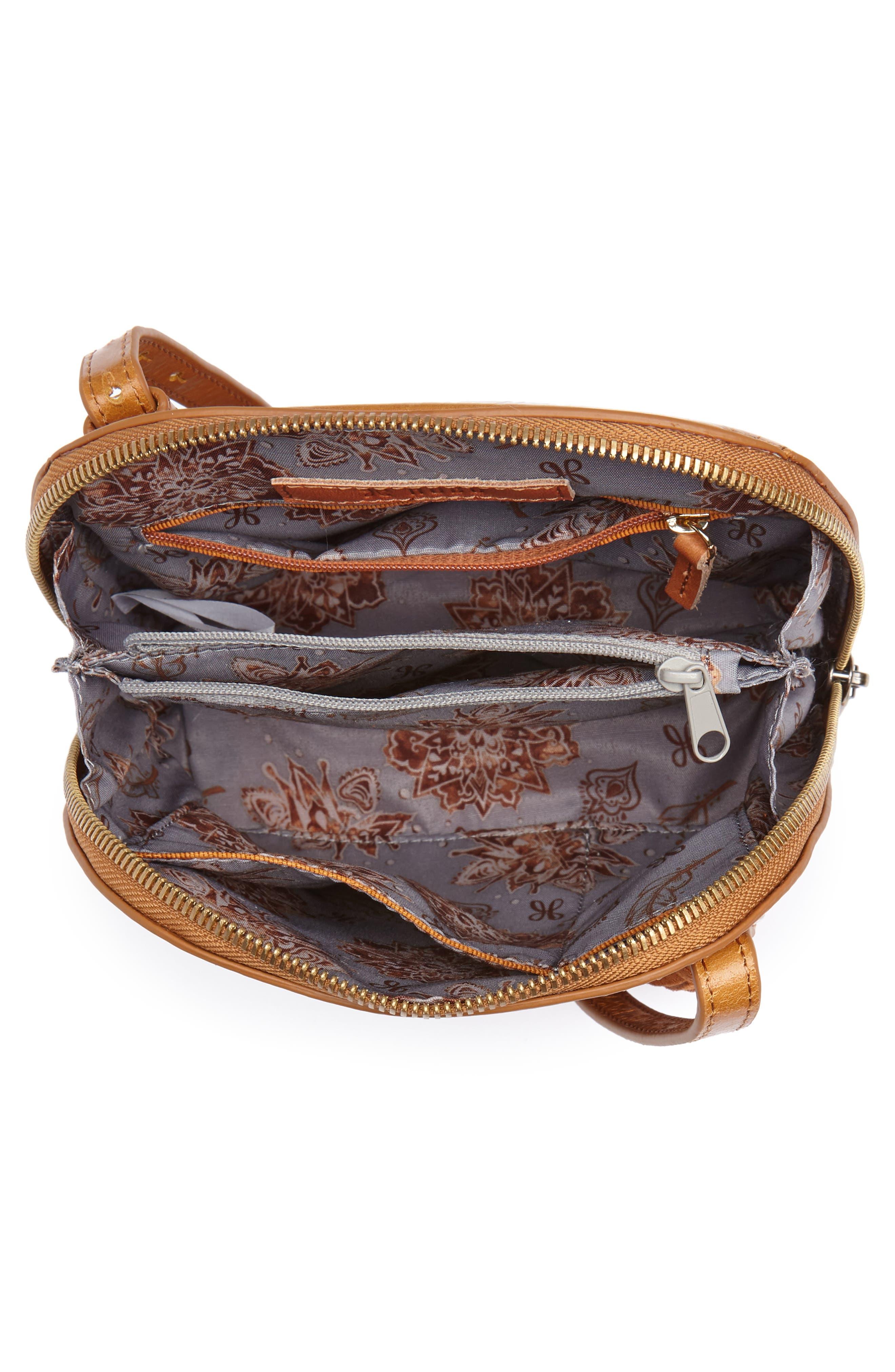 HOBO,                             Nash Floral Crossbody Bag,                             Alternate thumbnail 4, color,                             212