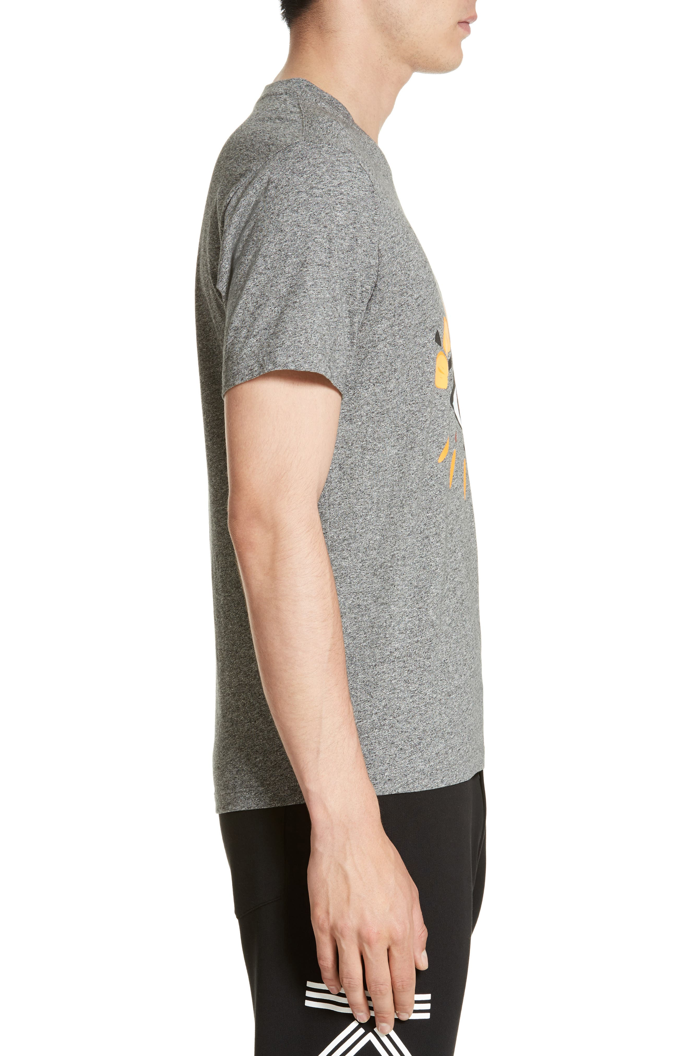 Embroidered Eye T-Shirt,                             Alternate thumbnail 3, color,                             022