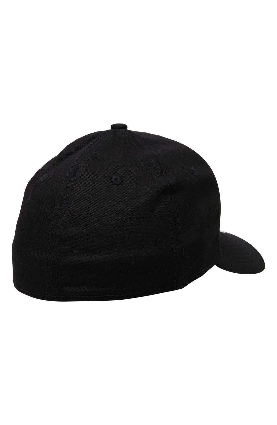'Ruckis' Fitted Hat,                             Alternate thumbnail 3, color,                             001