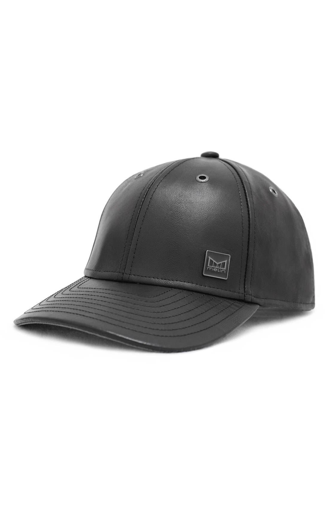 MELIN 'The Voyage' Baseball Cap - Black in Black/ Black