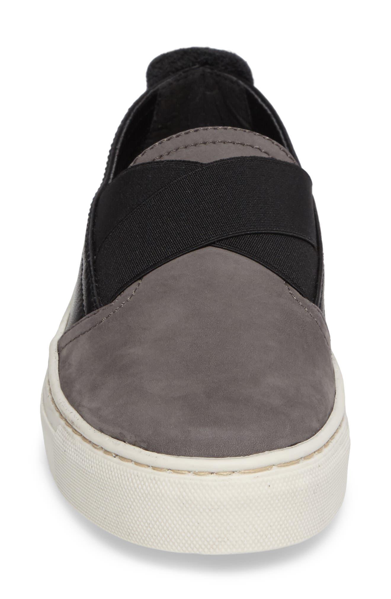 La Cross Slip-On Sneaker,                             Alternate thumbnail 4, color,                             001