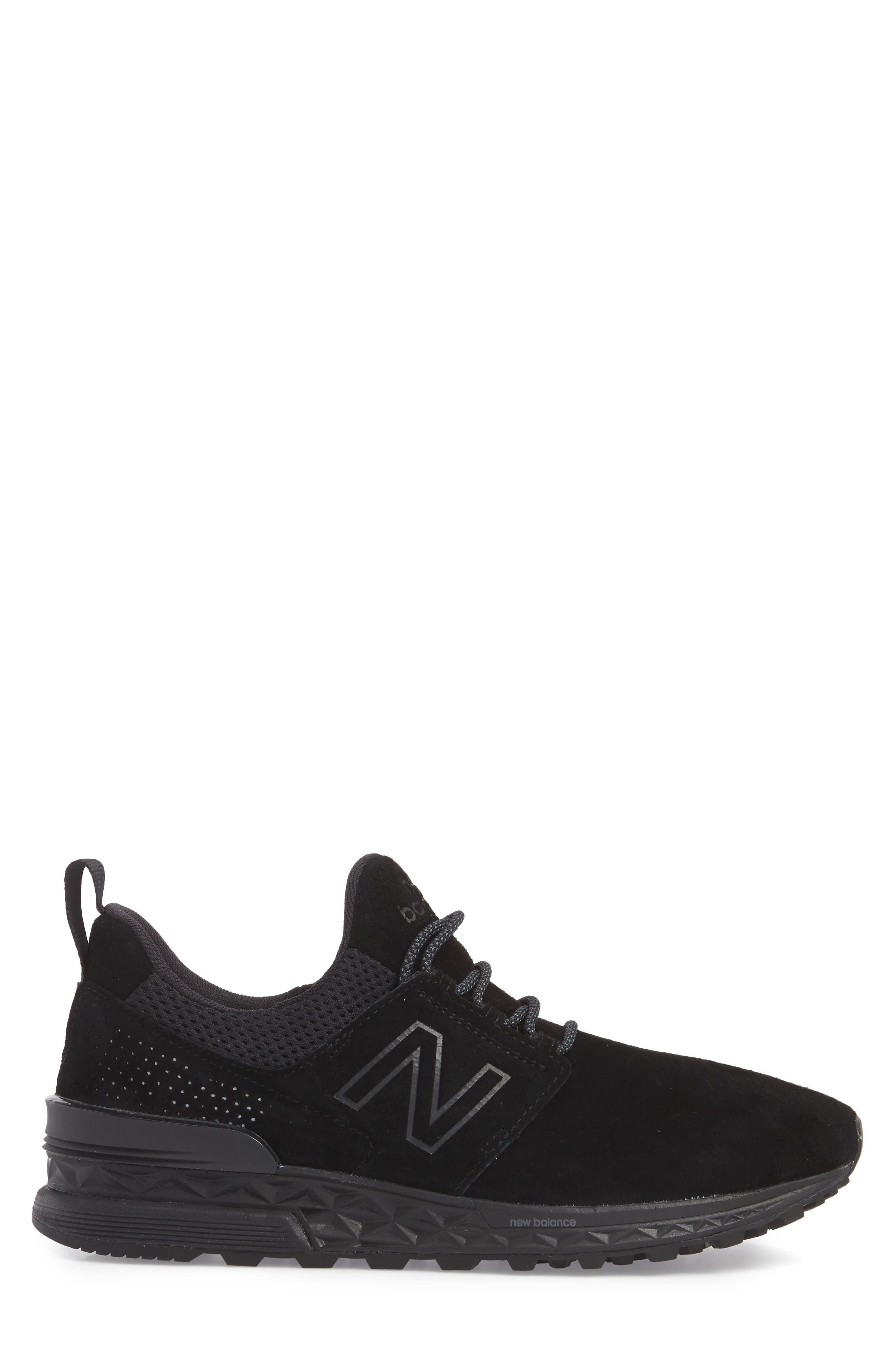 574 Decon Sneaker,                             Alternate thumbnail 3, color,                             001