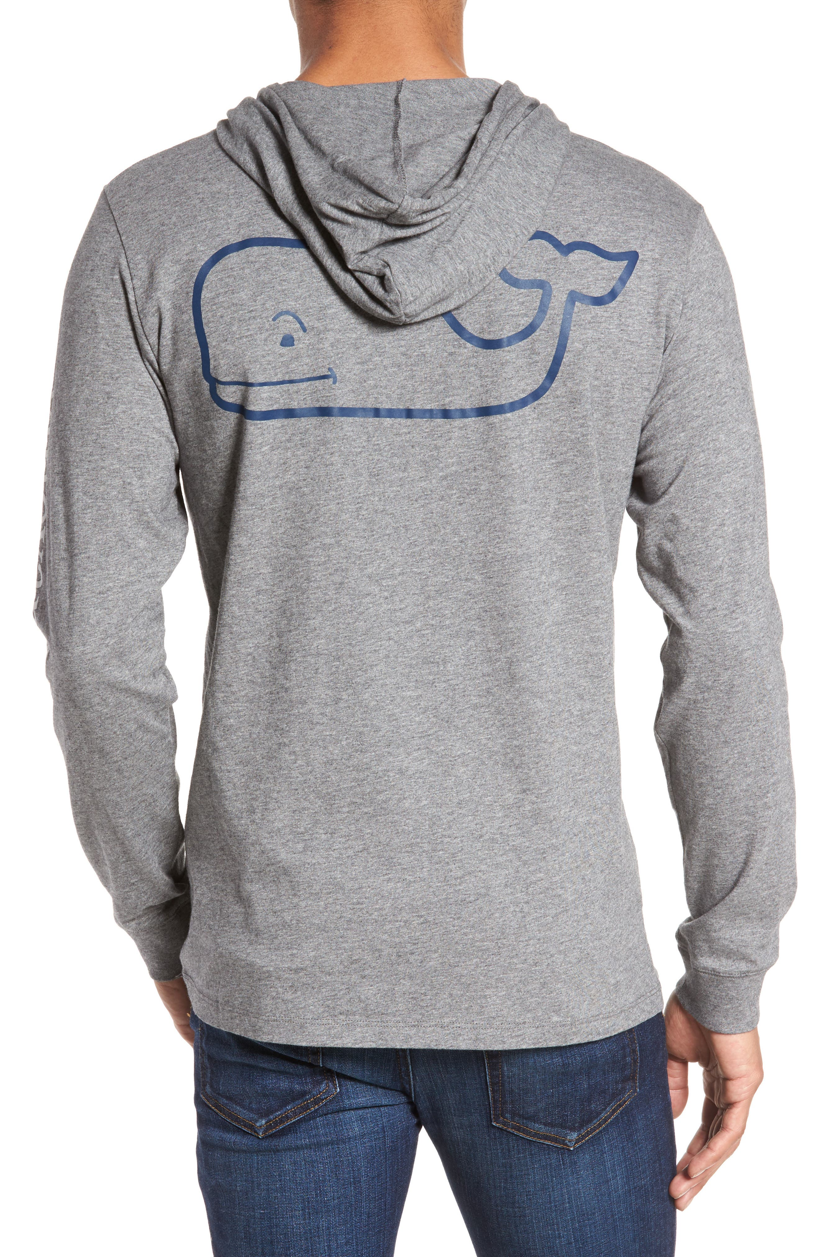 Whale Graphic Hooded T-Shirt,                             Alternate thumbnail 2, color,                             030