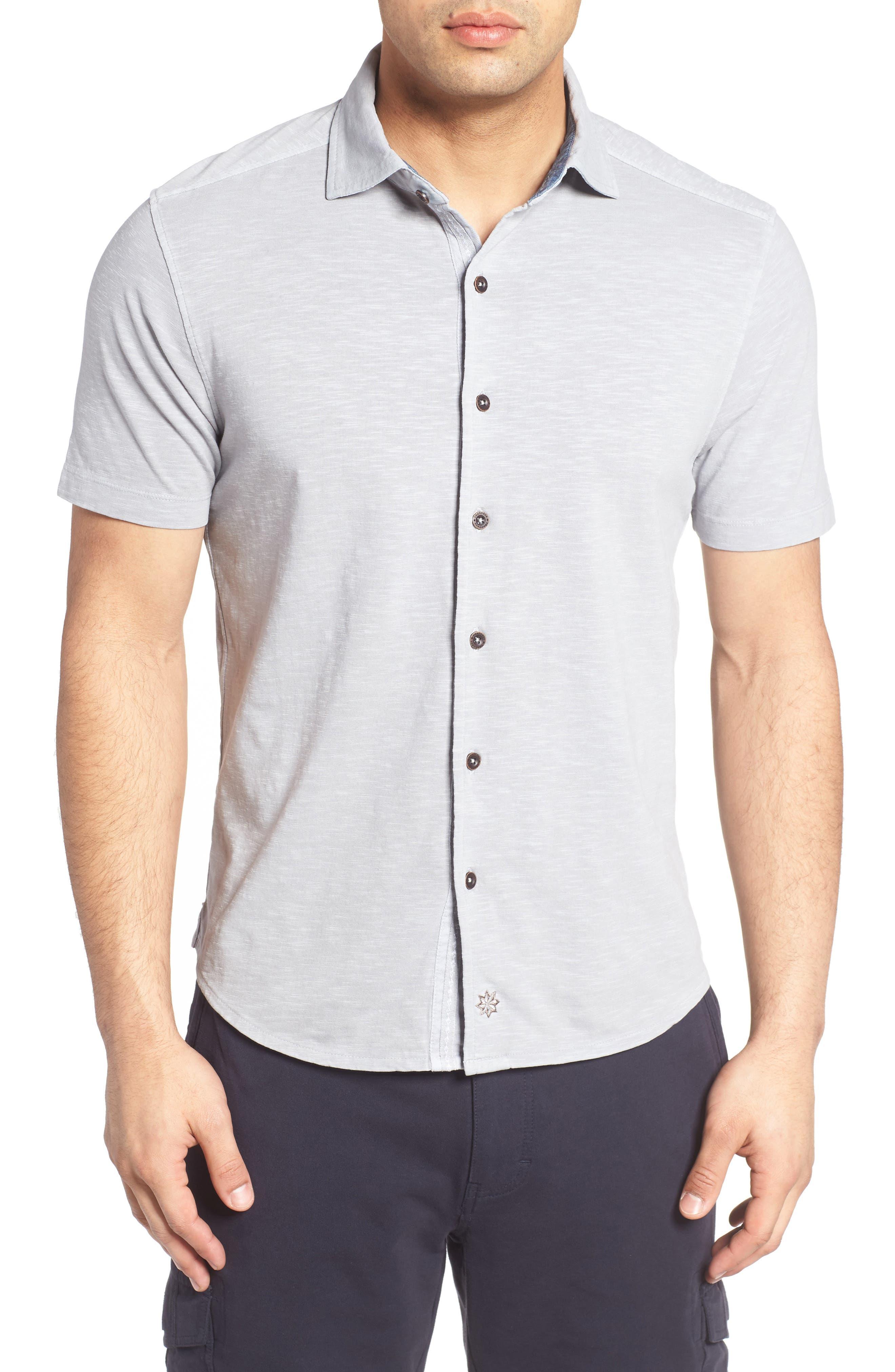 McAdams Slub Jersey Sport Shirt,                             Main thumbnail 1, color,                             020