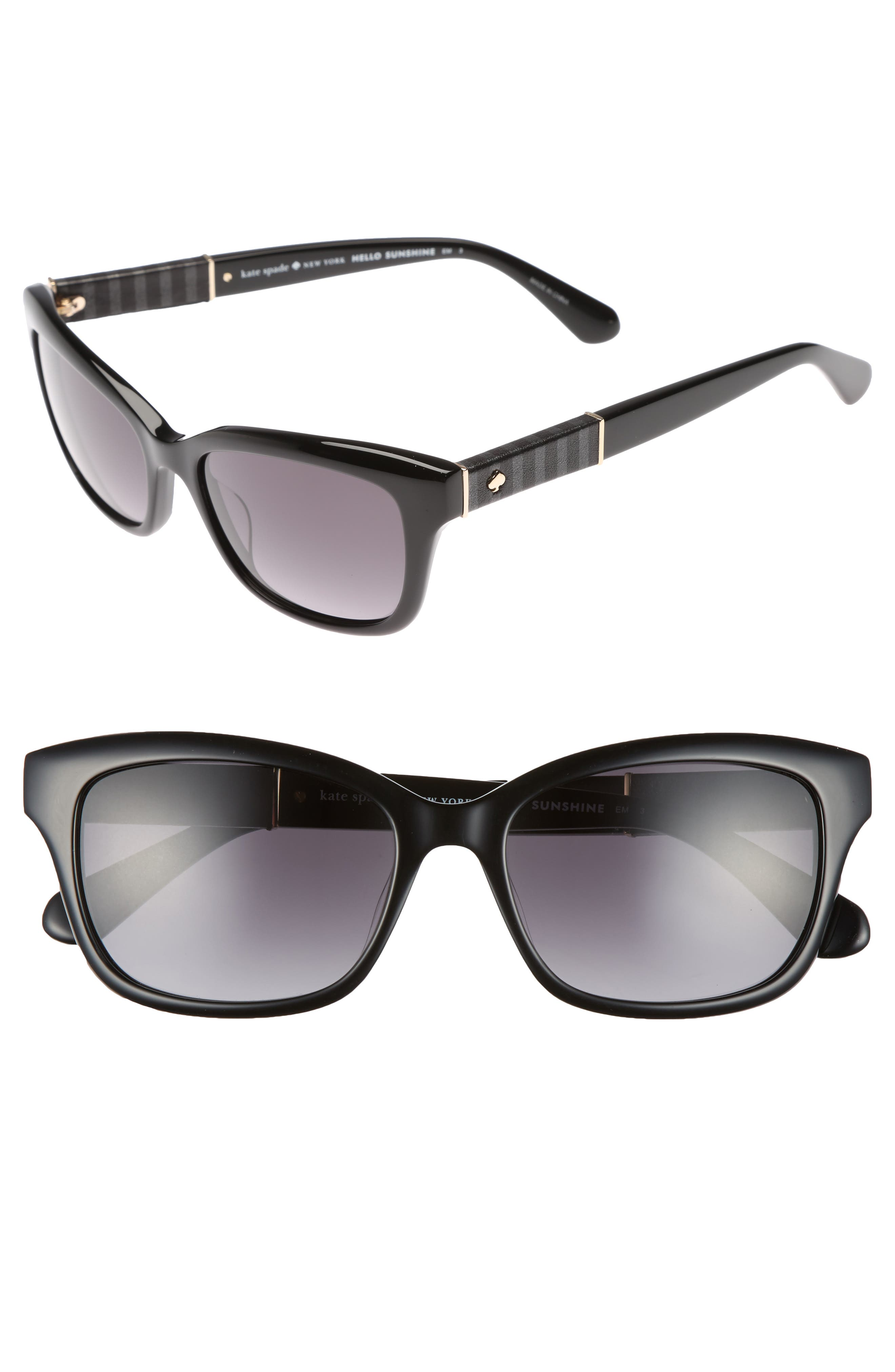 johanna 2 53mm gradient sunglasses,                             Main thumbnail 1, color,                             001