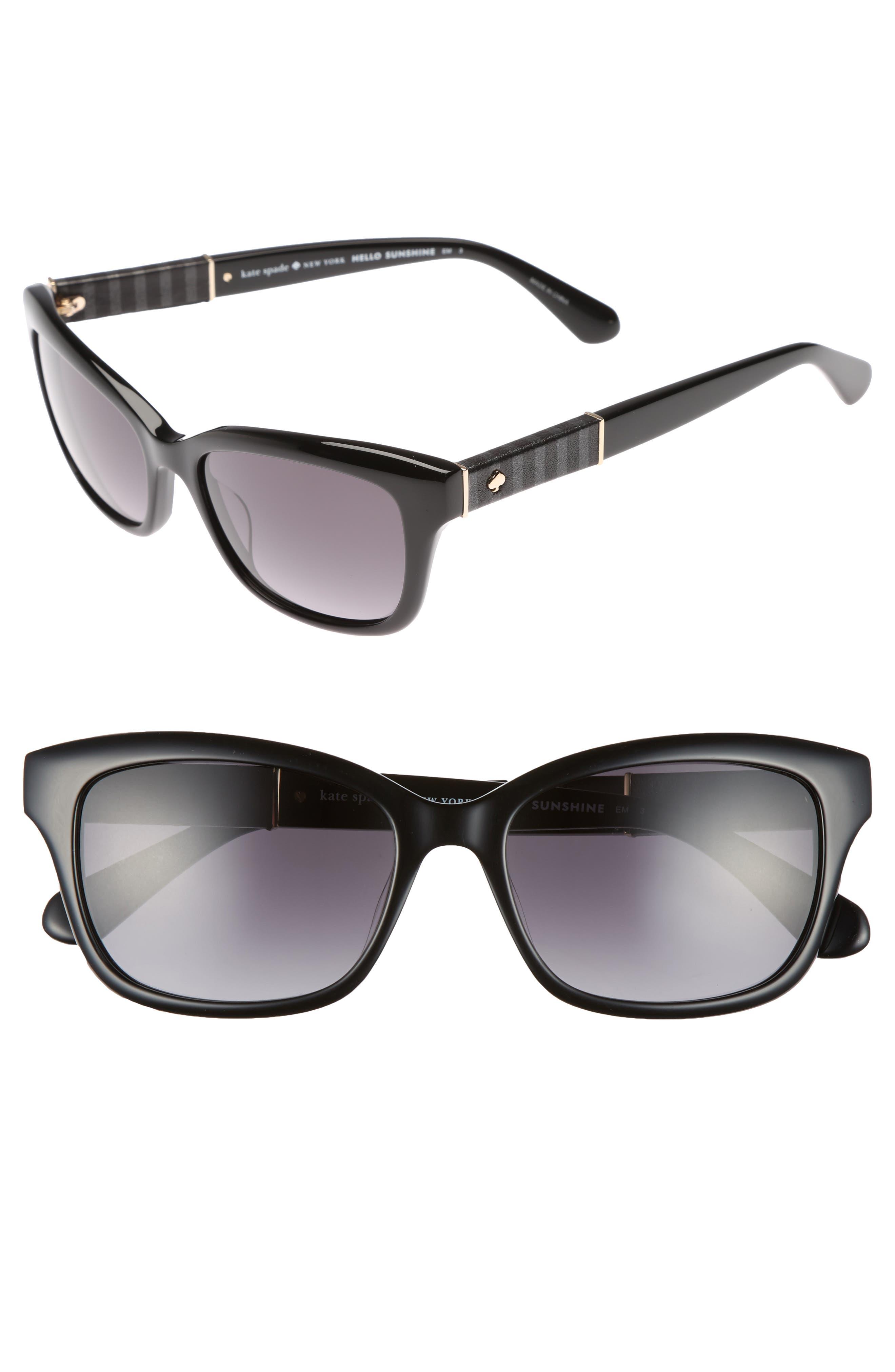 johanna 2 53mm gradient sunglasses,                         Main,                         color, 001