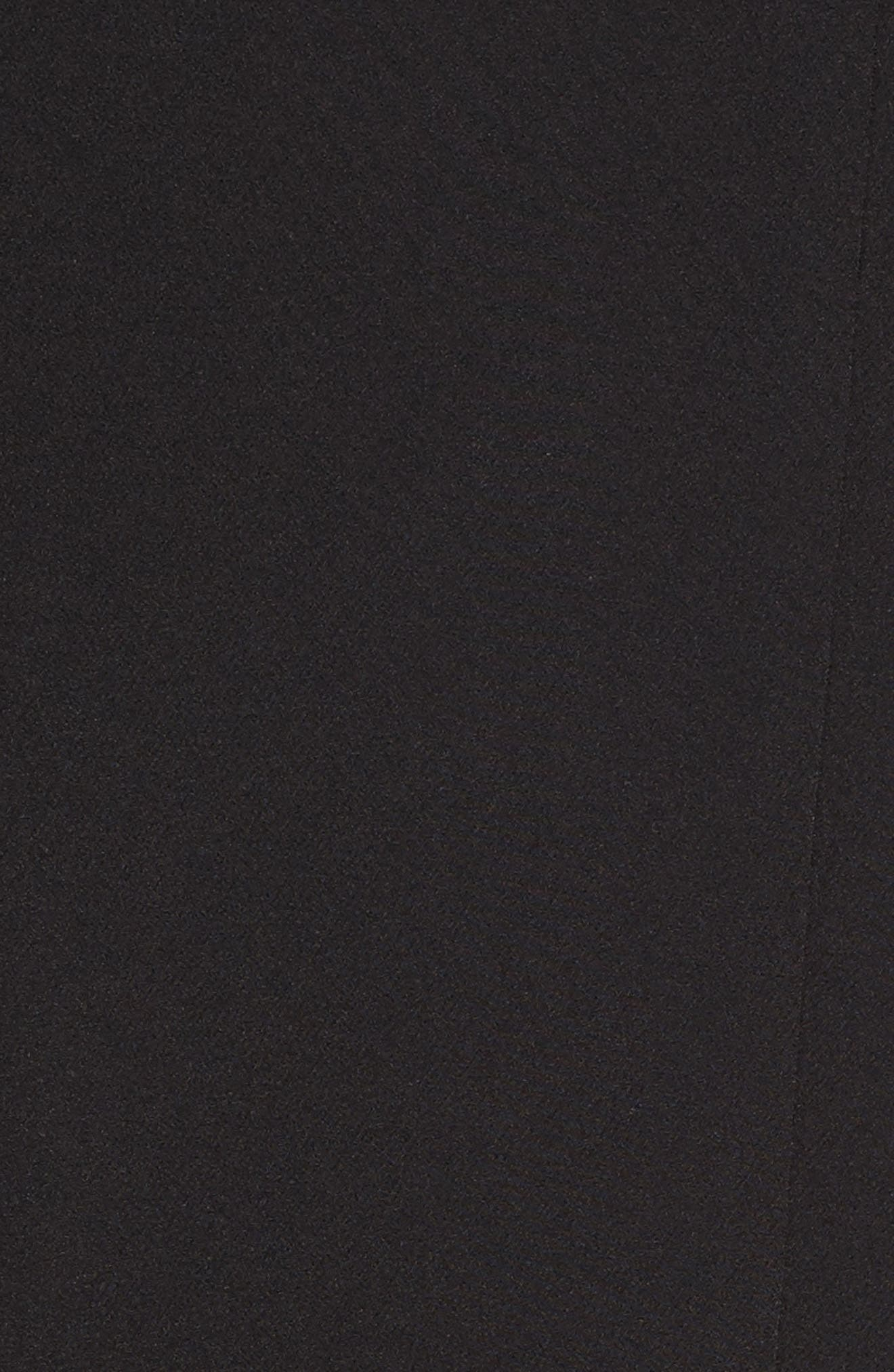 Zip Pocket Blazer,                             Alternate thumbnail 6, color,                             RICH BLACK