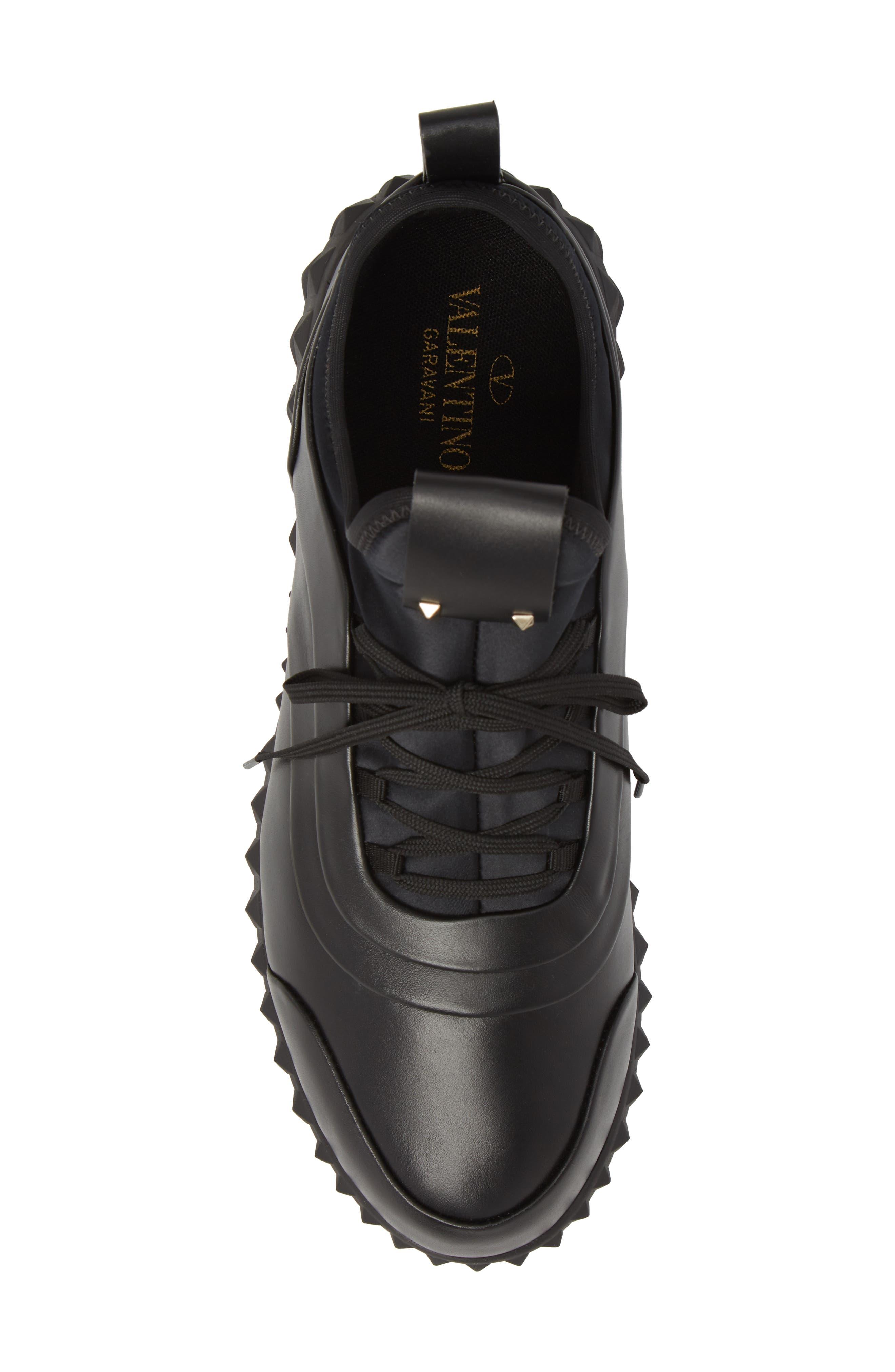Bodytech Sneaker,                             Alternate thumbnail 5, color,                             BLACK/ BLACK