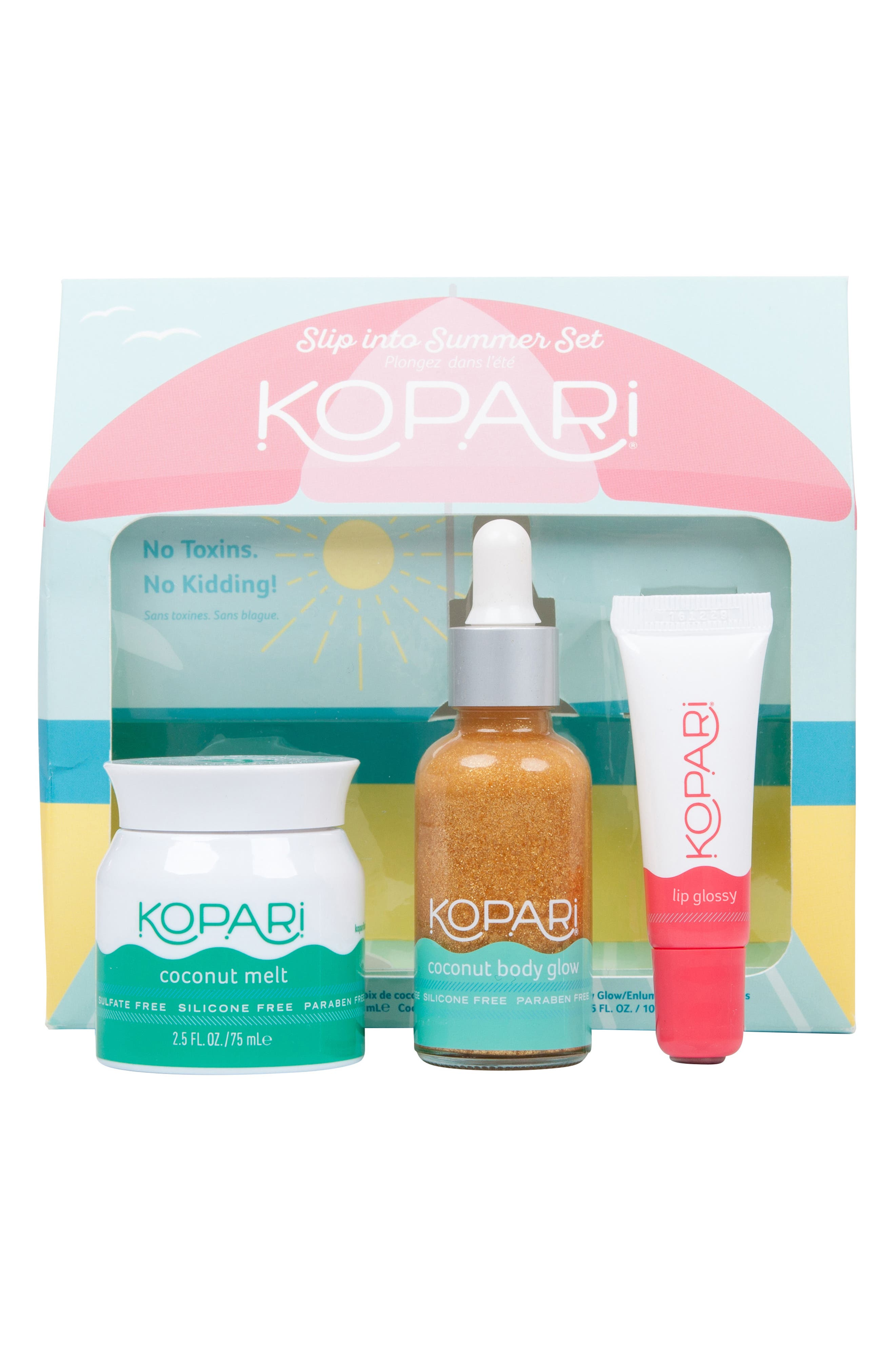 Slip Into Summer Kit,                             Main thumbnail 1, color,                             000