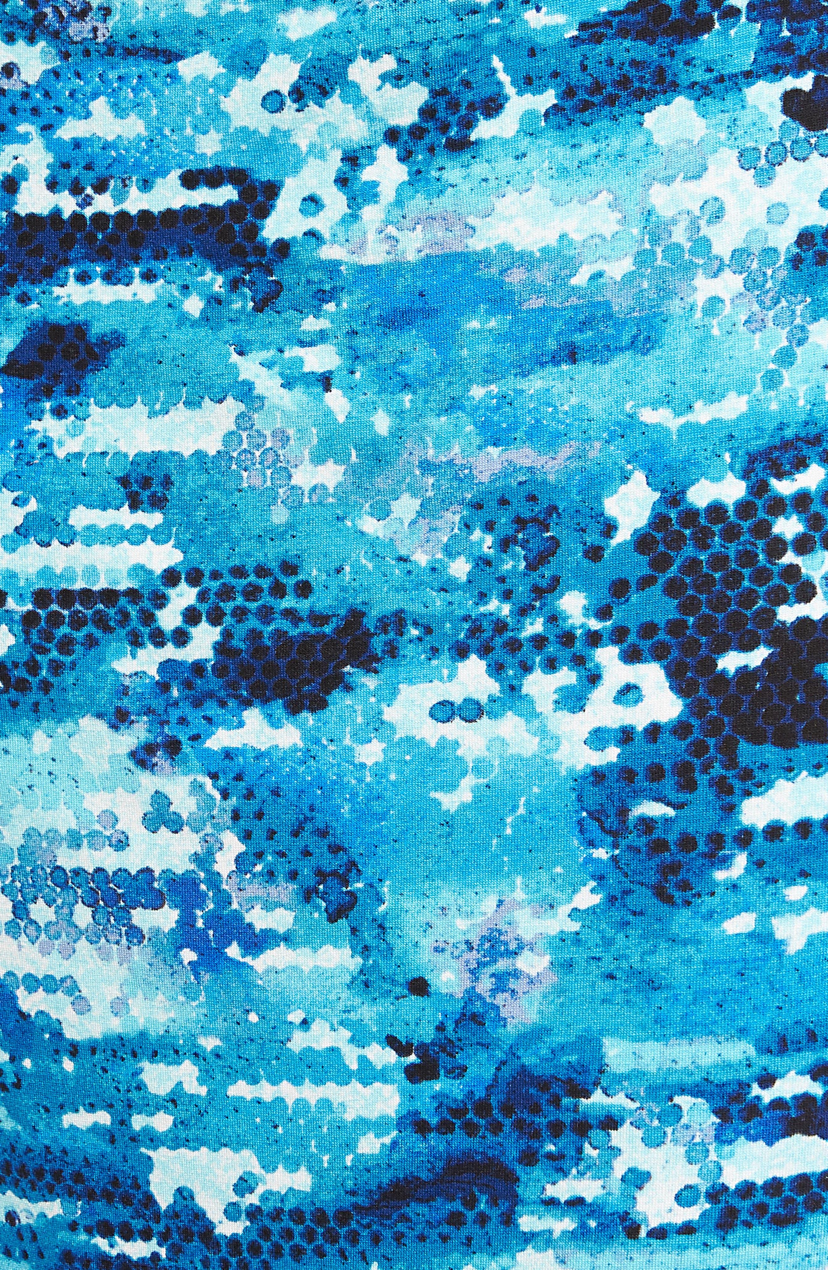 Surf Spray Sheath Dress,                             Alternate thumbnail 5, color,                             490