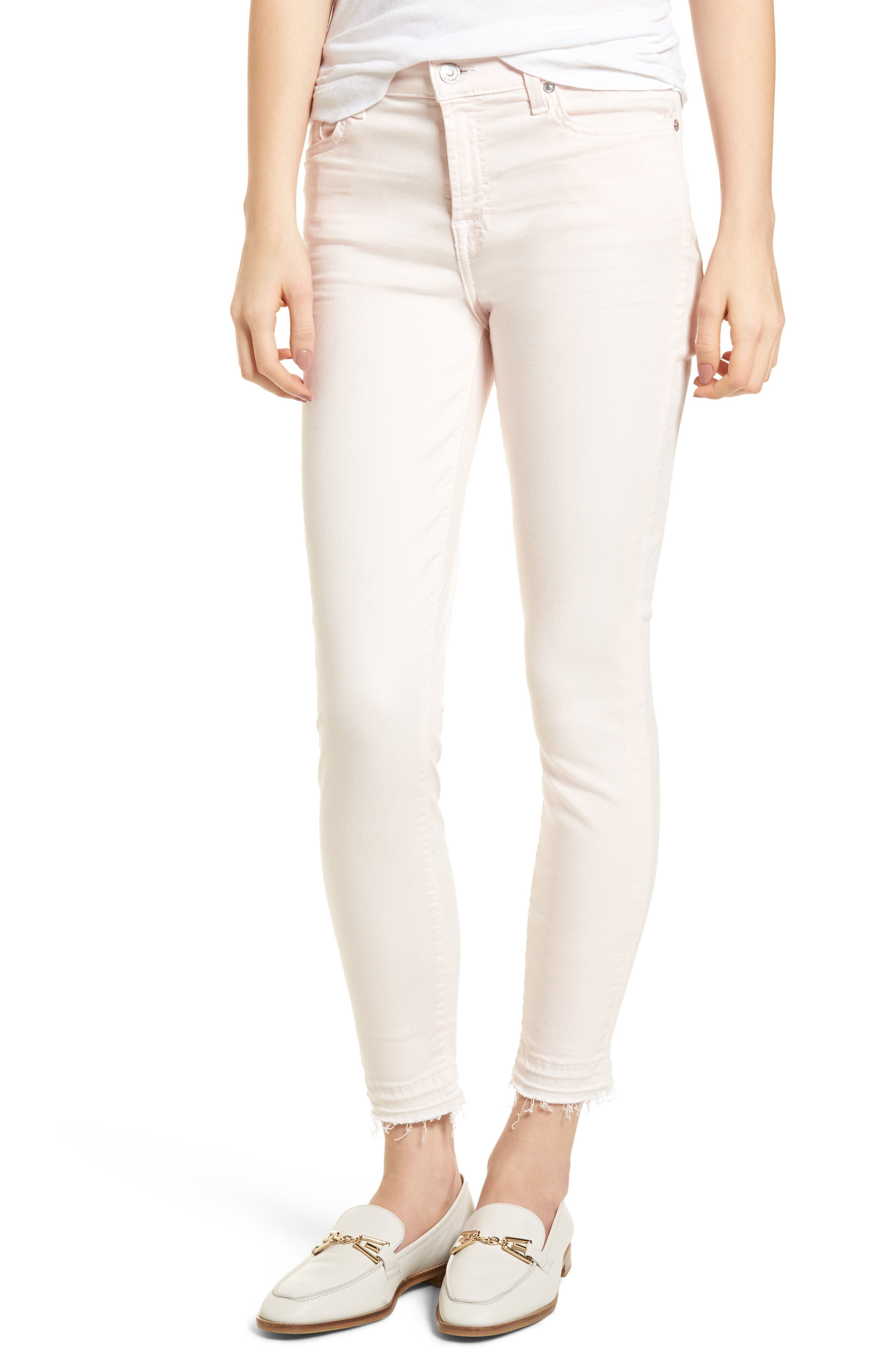 Released Hem Ankle Skinny Jeans,                             Main thumbnail 4, color,
