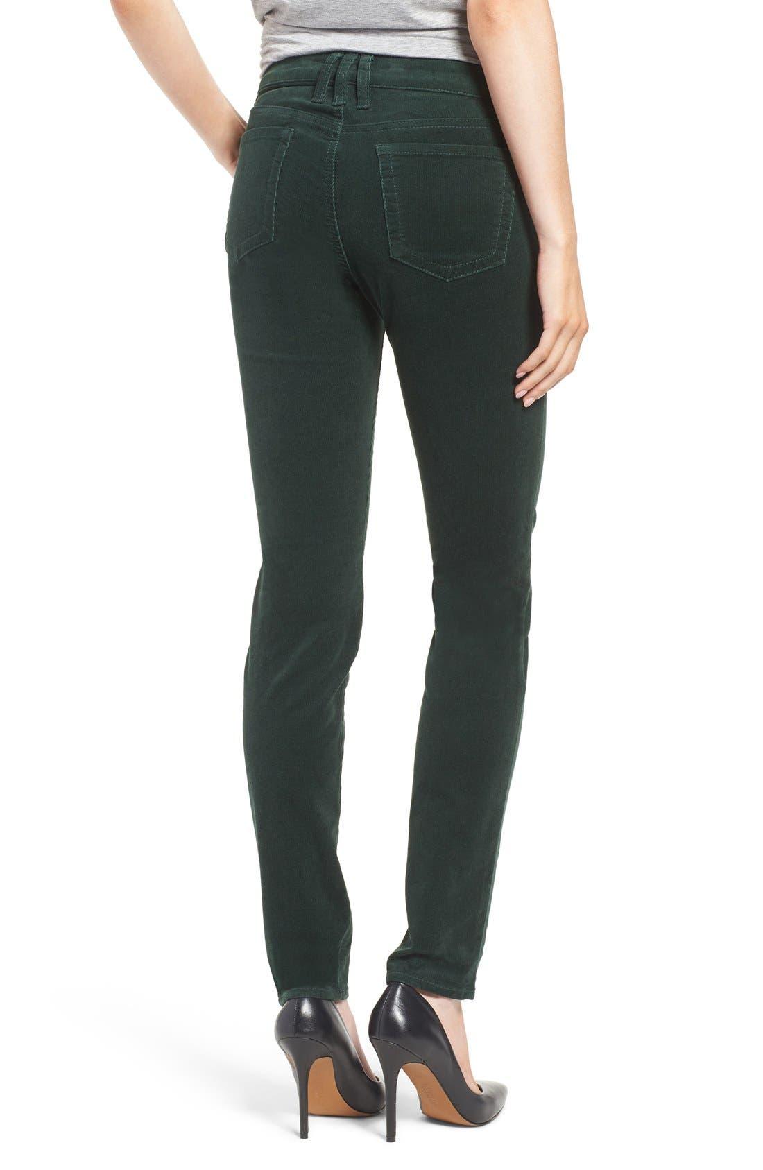 'Diana' Stretch Corduroy Skinny Pants,                             Alternate thumbnail 79, color,