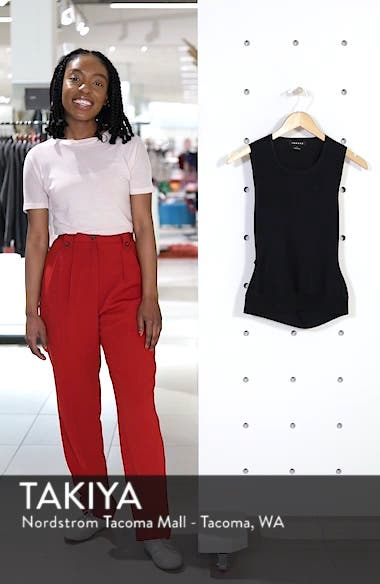 Twist Back Sweater Shell, sales video thumbnail
