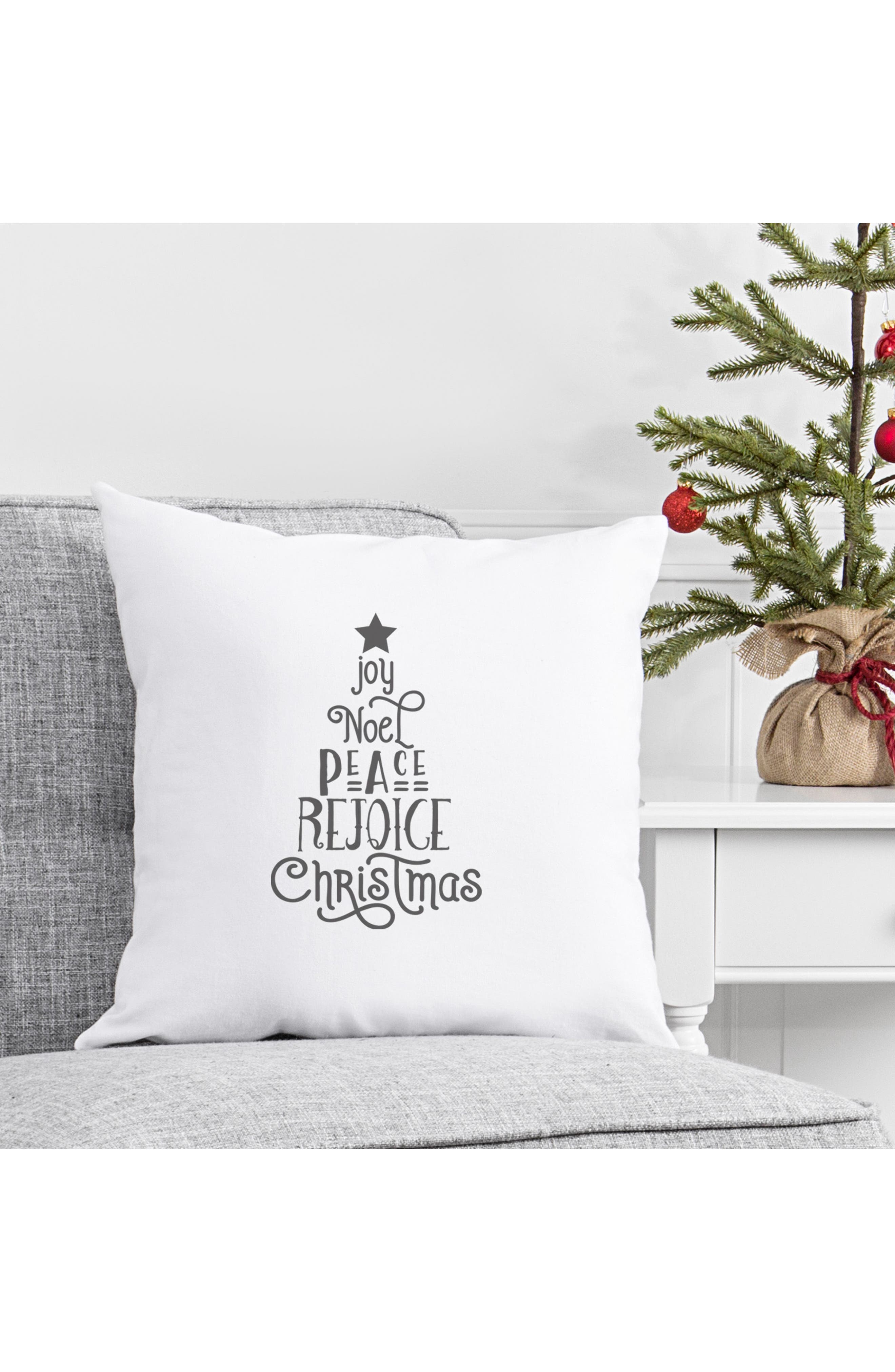 Christmas Tree Accent Pillow,                             Alternate thumbnail 4, color,                             020