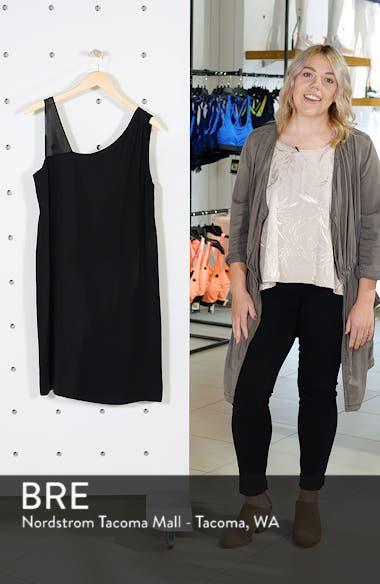 Sheer Strap Silk Shift Dress, sales video thumbnail