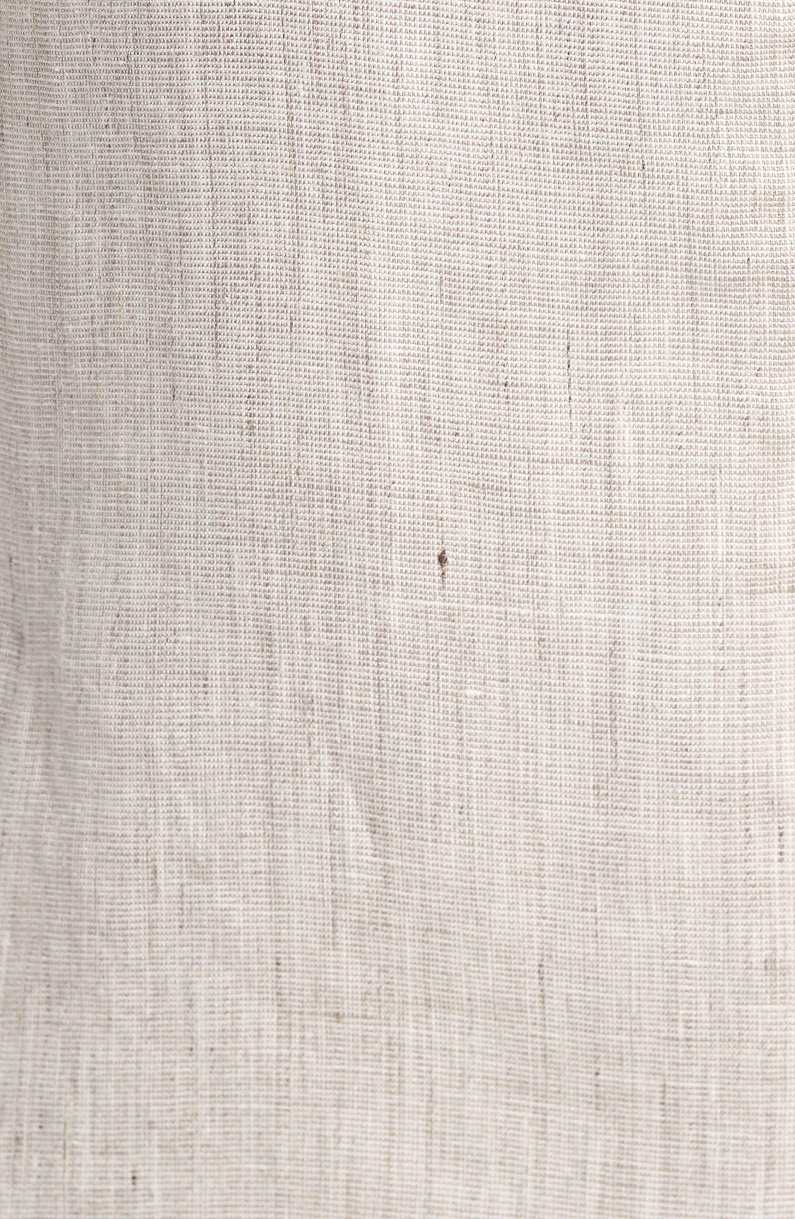 Trent Trim Fit Linen Blazer,                             Alternate thumbnail 6, color,                             250
