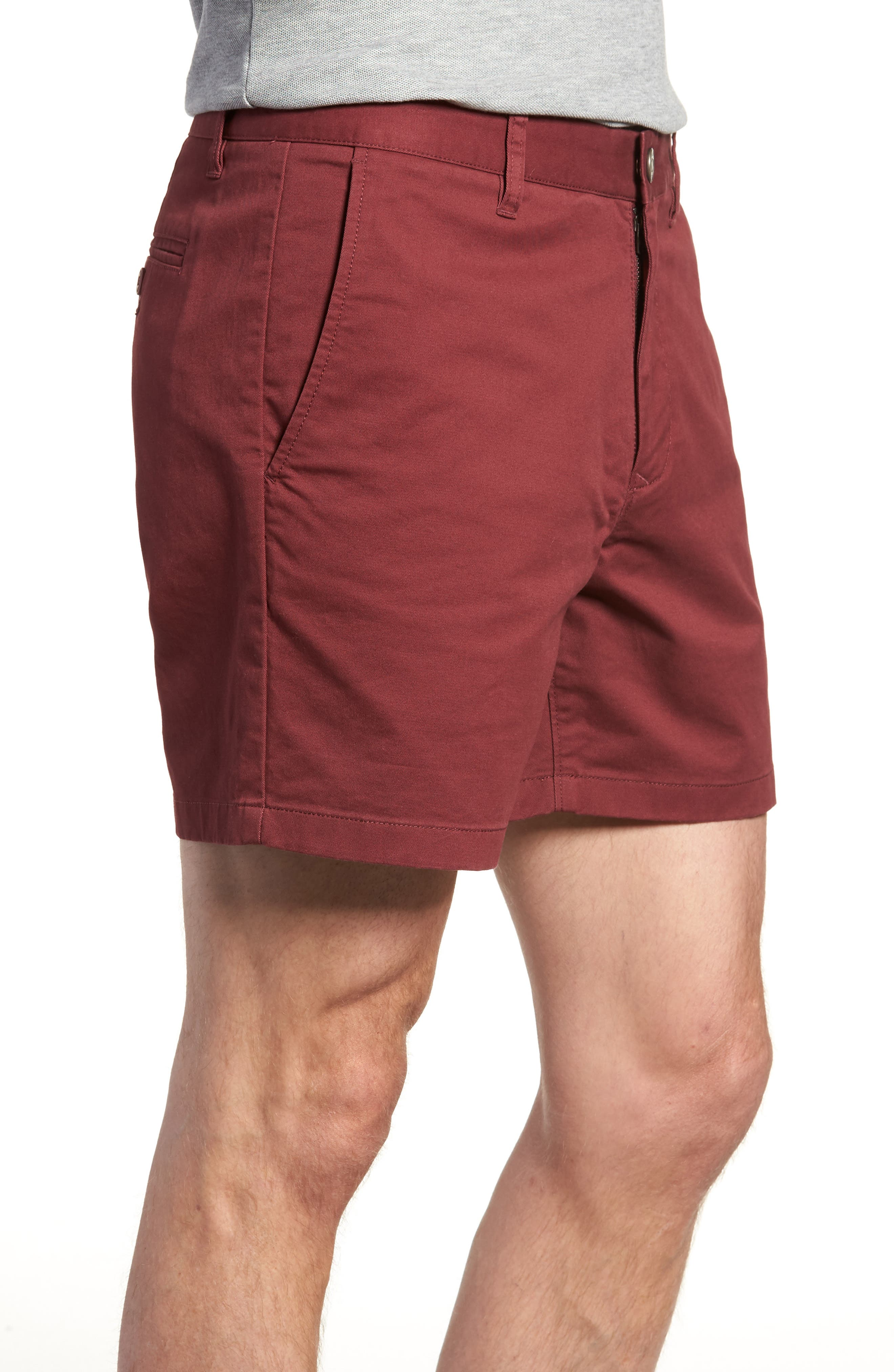 Stretch Washed Chino 5-Inch Shorts,                             Alternate thumbnail 72, color,