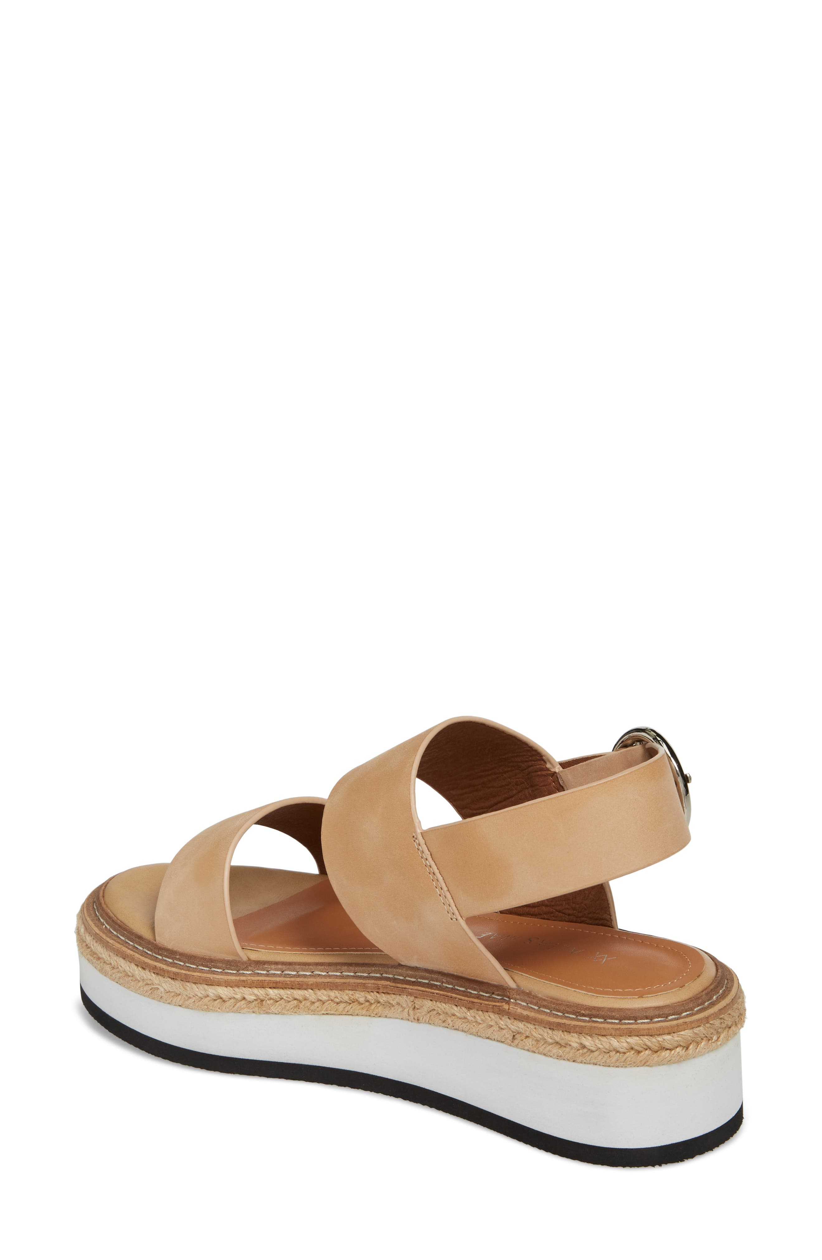 Niche Platform Sandal,                             Alternate thumbnail 4, color,