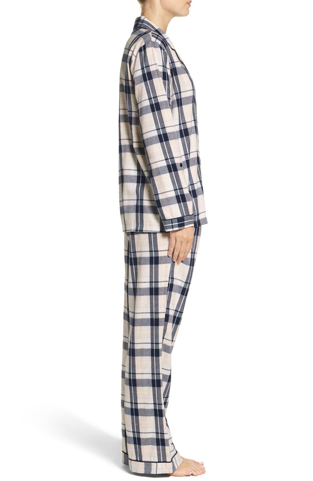 Cotton Twill Pajamas,                             Alternate thumbnail 39, color,