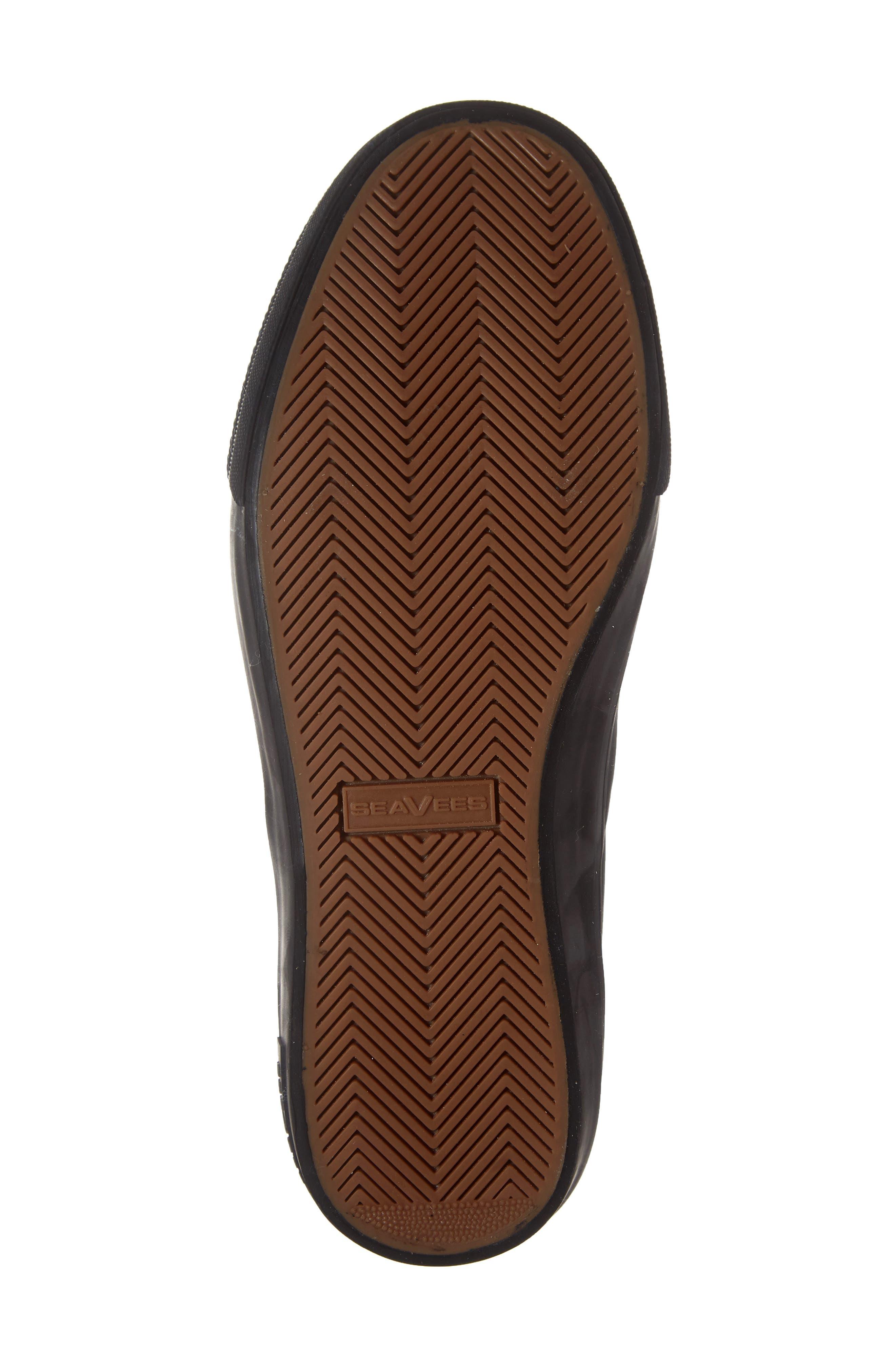 Mariners Waterproof Sneaker,                             Alternate thumbnail 6, color,                             BROWN SUEDE