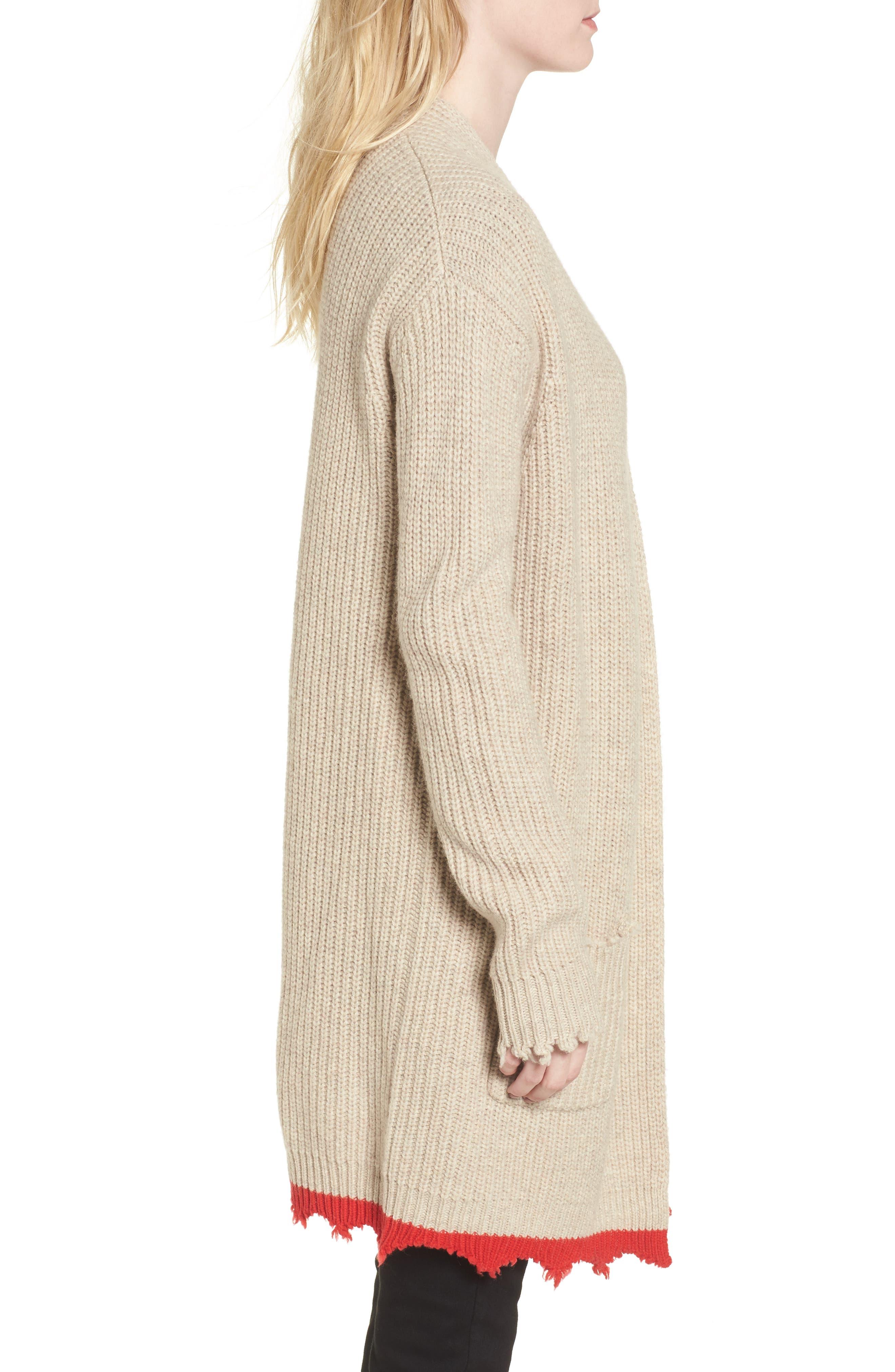 Rita Cardigan Sweater,                             Alternate thumbnail 3, color,