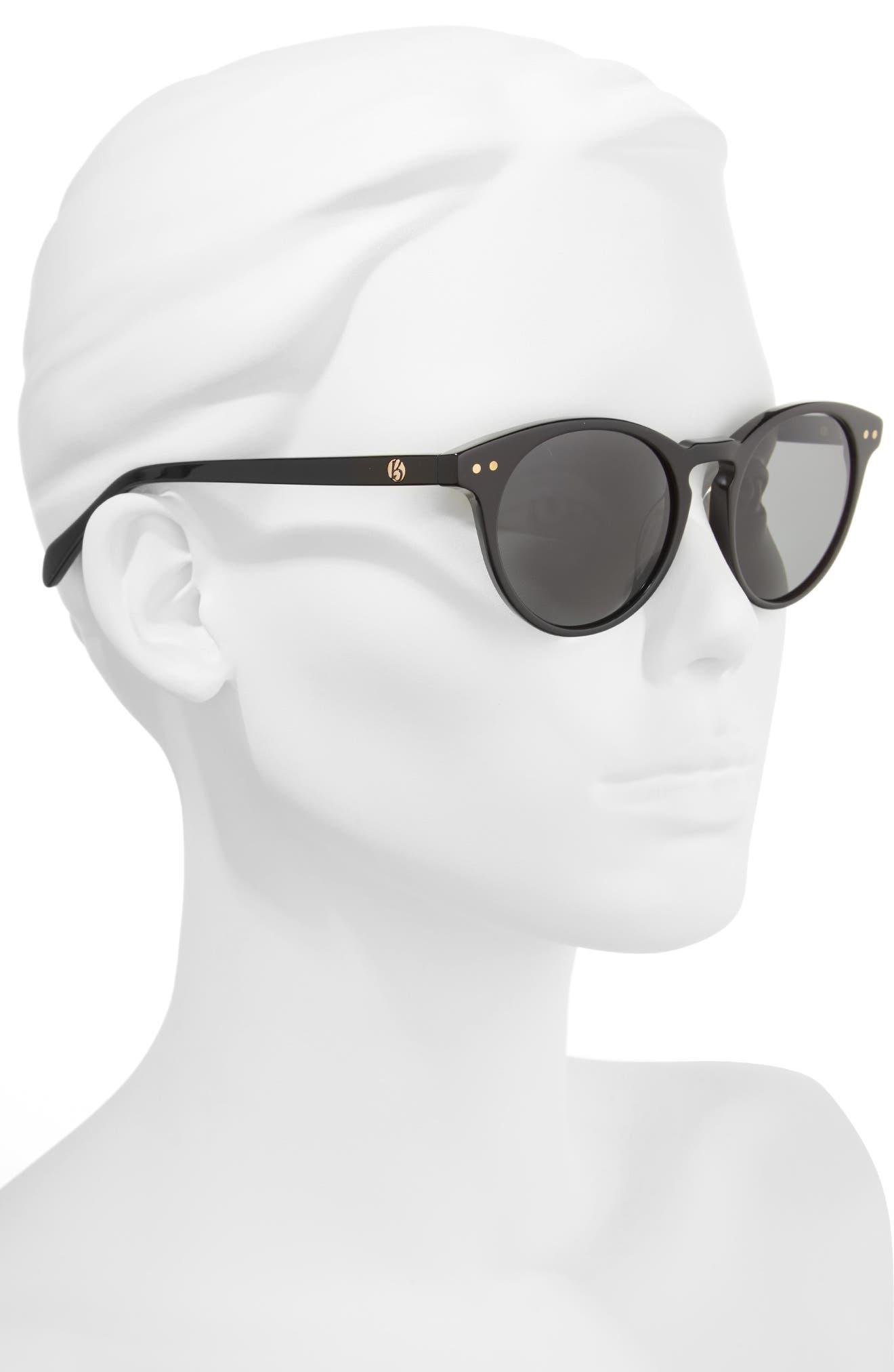 Oxford 49mm Polarized Sunglasses,                             Alternate thumbnail 2, color,                             001