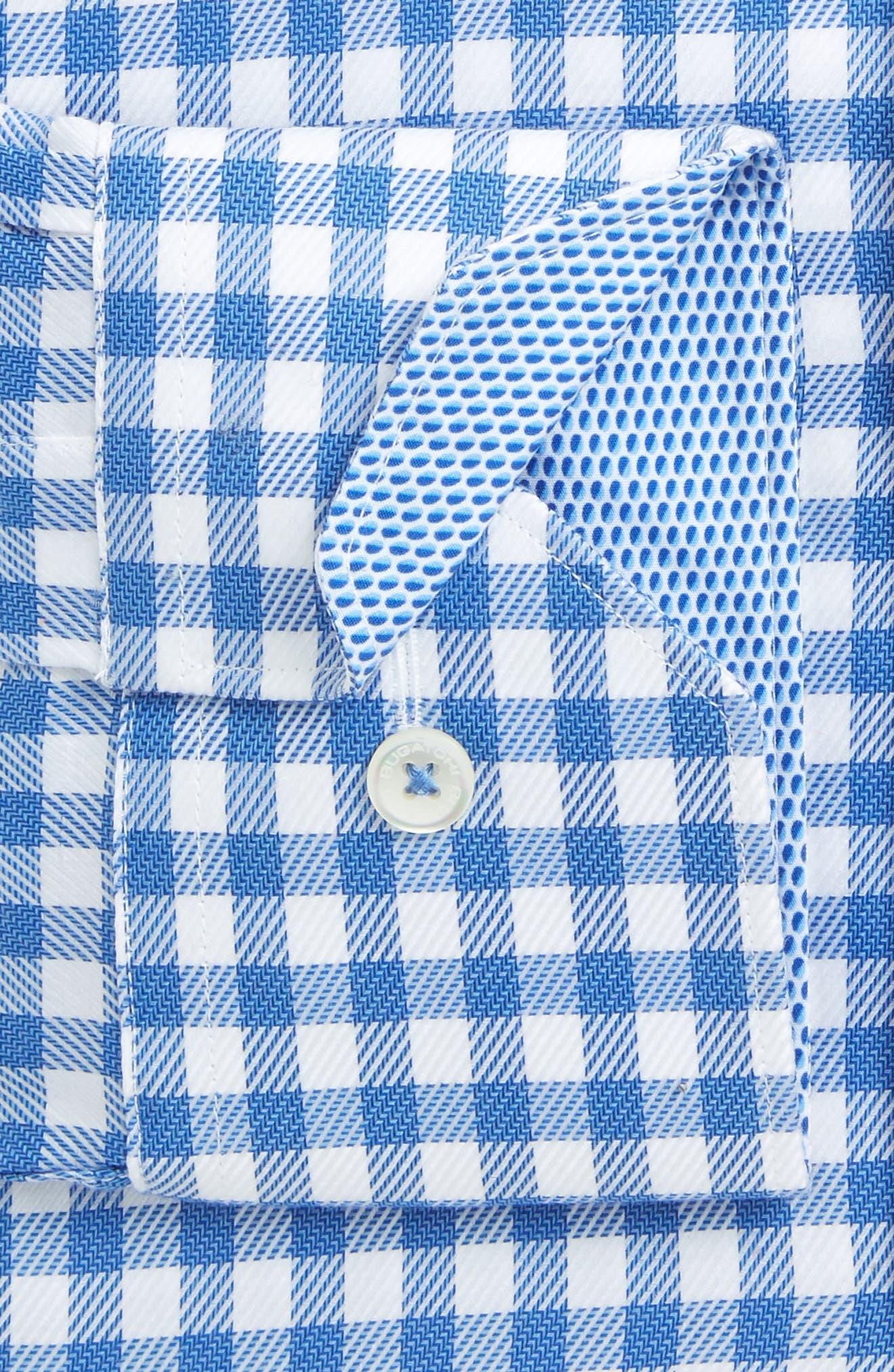 Trim Fit Check Dress Shirt,                         Main,                         color, 422
