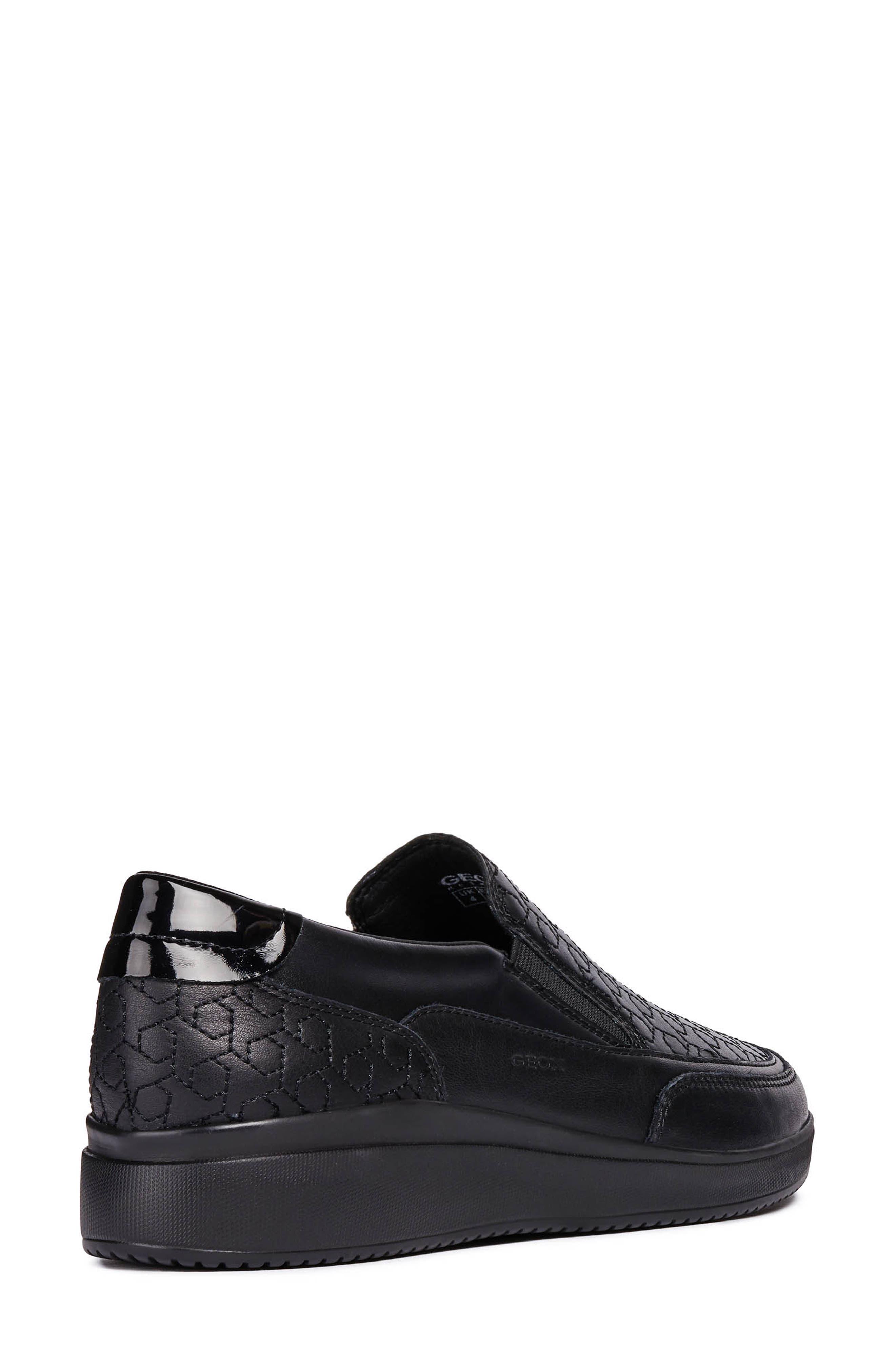 Tahina Slip-On Sneaker,                             Alternate thumbnail 2, color,                             BLACK FABRIC