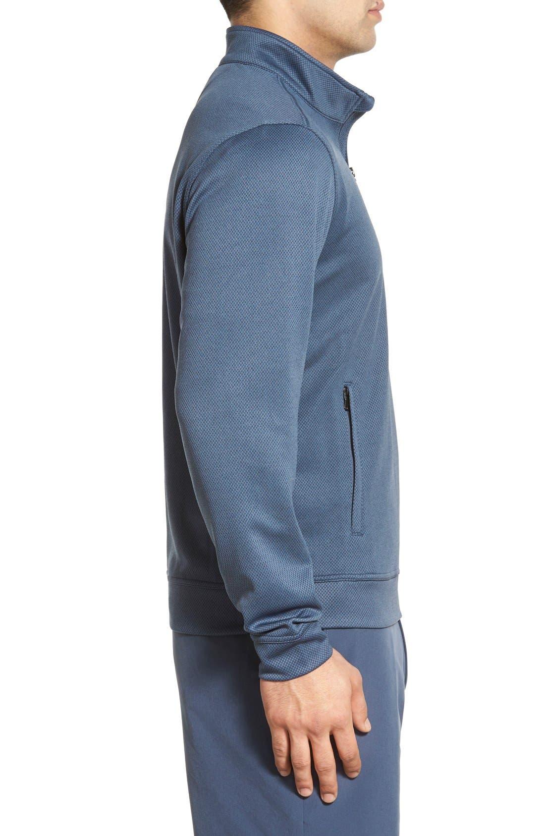 'Weather Tec Orbit' Half Zip Pullover,                             Alternate thumbnail 3, color,                             015