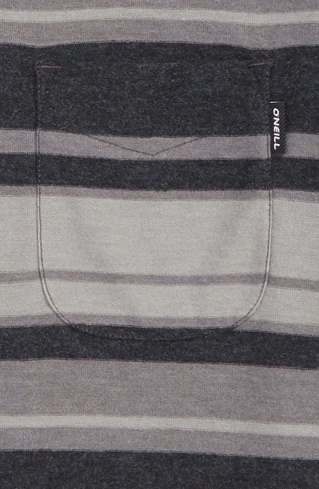 Pinnacle Pocket T-Shirt,                             Alternate thumbnail 2, color,                             BLACK