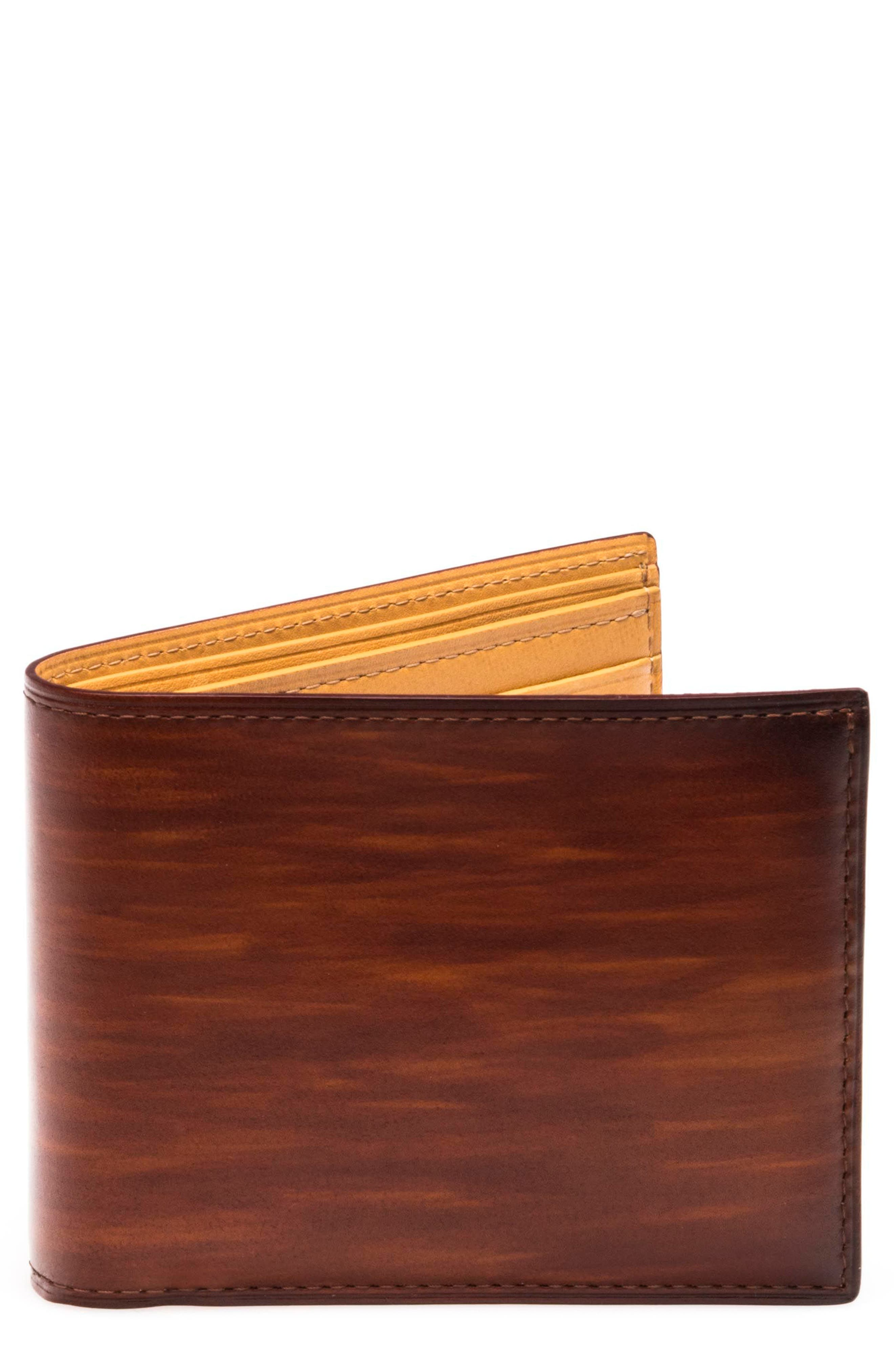 Leather Bifold,                             Main thumbnail 1, color,                             203