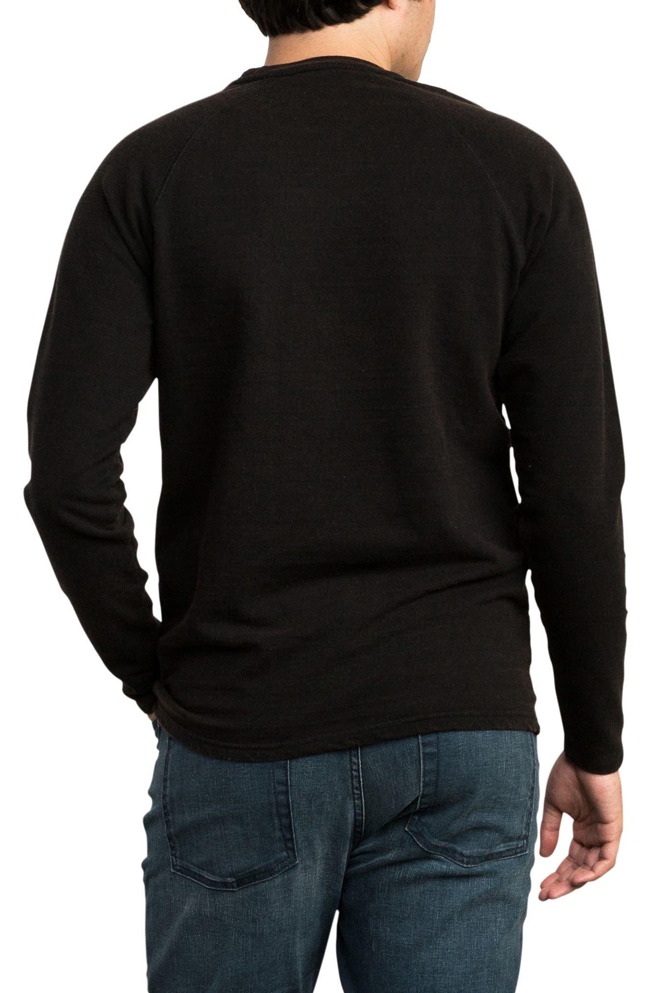 Undertone Long Sleeve T-Shirt,                             Alternate thumbnail 2, color,                             PIRATE BLACK