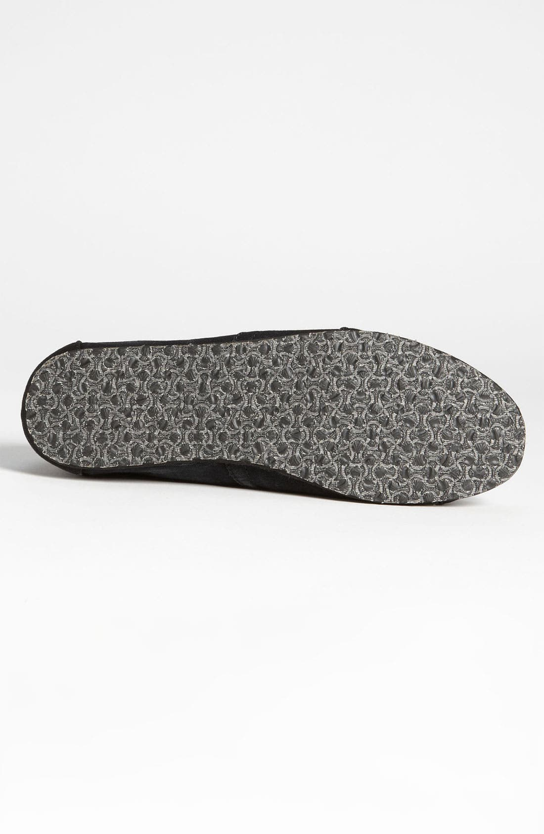 'Classic' Stonewashed Twill Slip-On,                             Alternate thumbnail 4, color,                             001