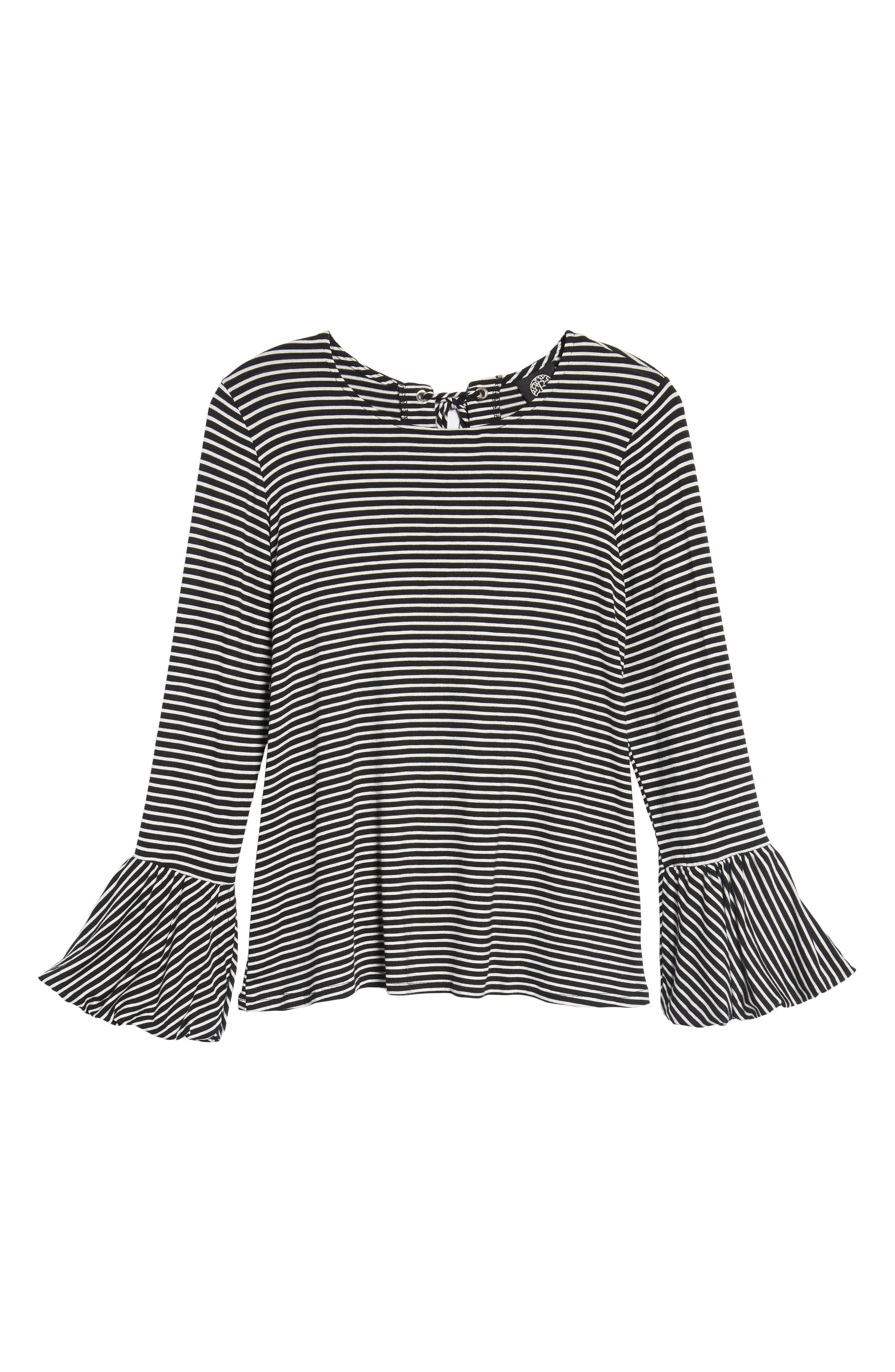 Bell Sleeve Top,                             Alternate thumbnail 6, color,                             003