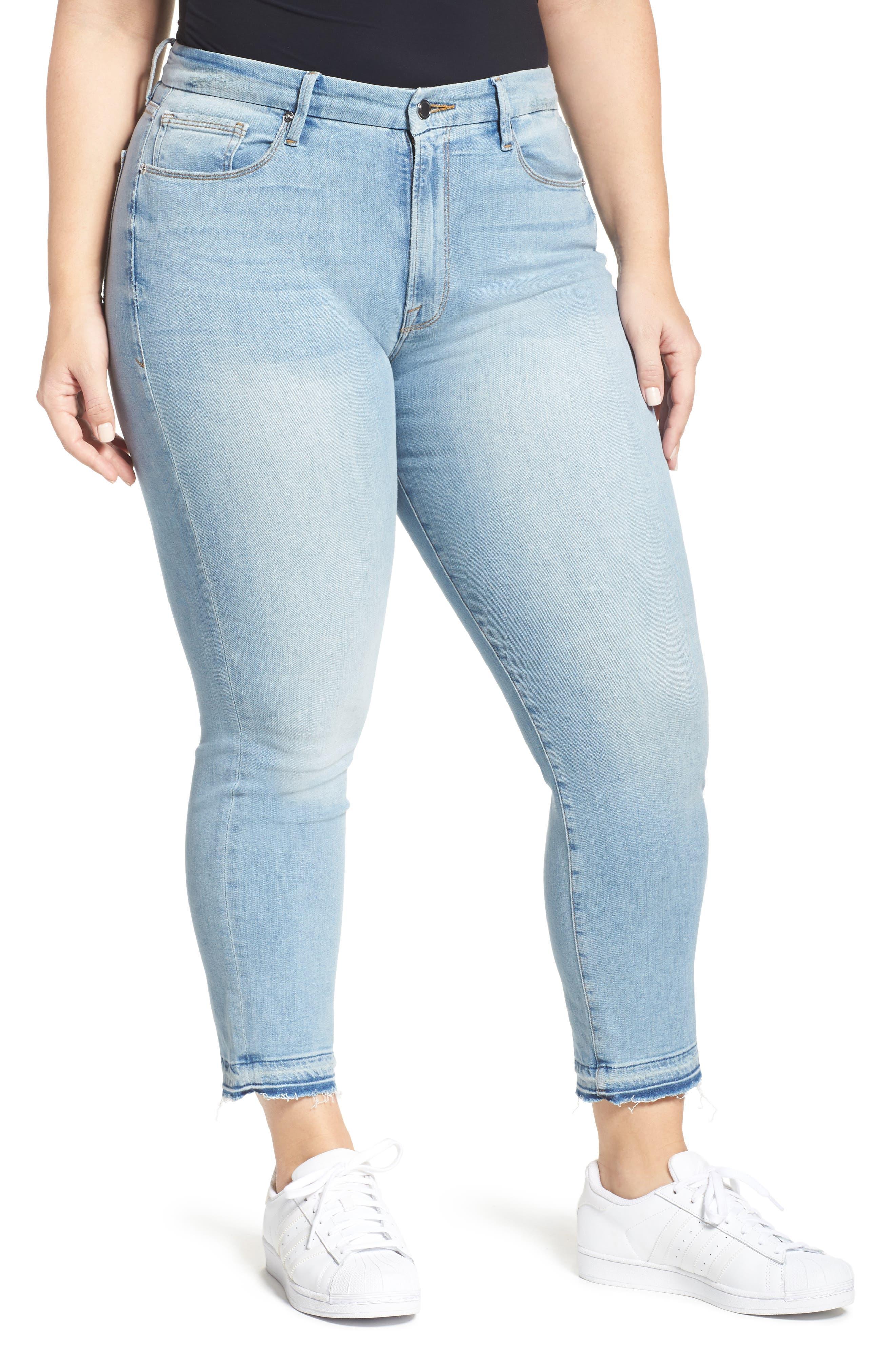 Good Waist High Rise Skinny Jeans,                         Main,                         color, 401